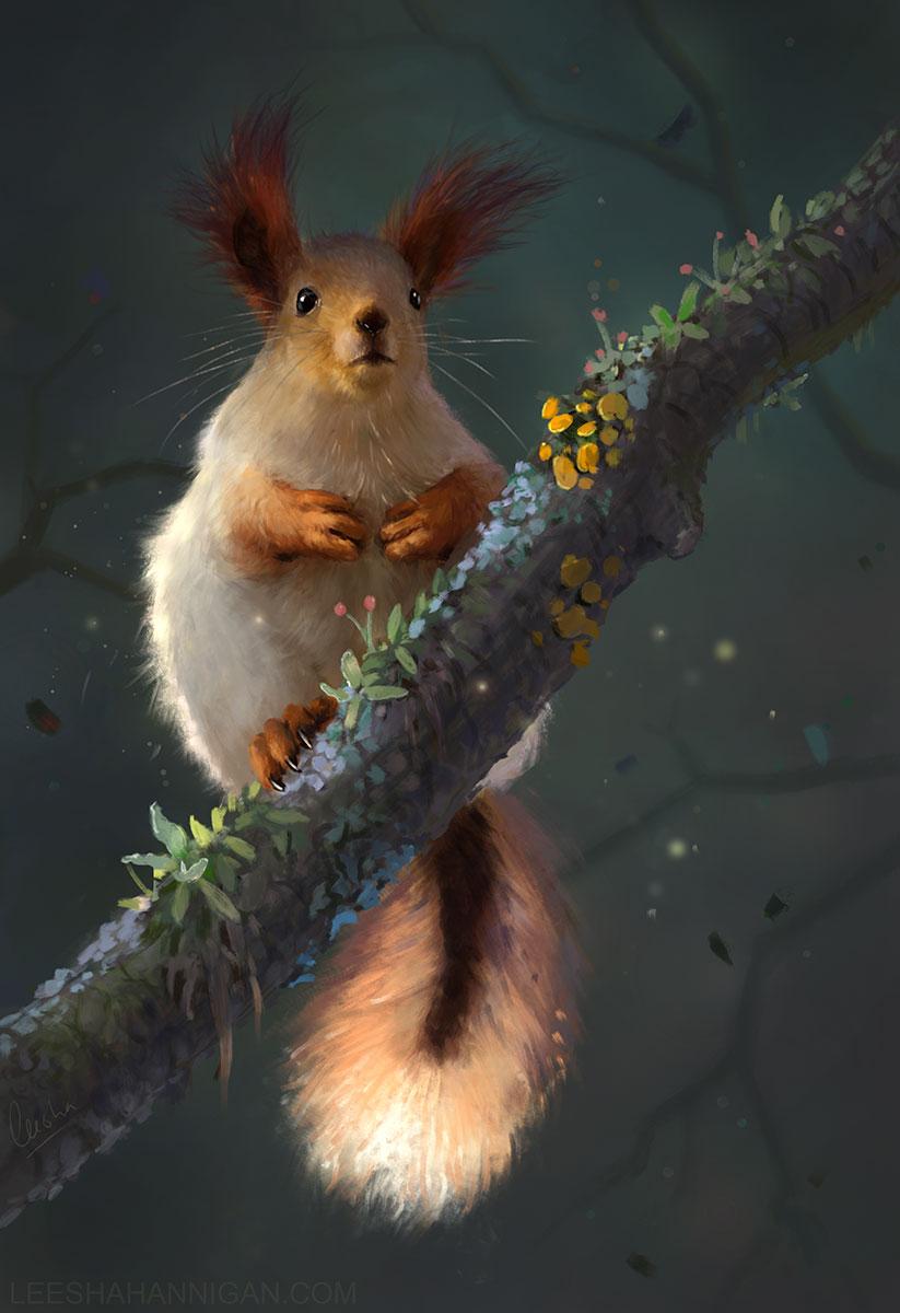 Leesha-Hannigan-Squirrel