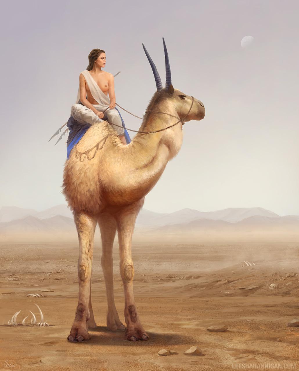 Leesha-Hannigan-Drifting-Echoes-In-The-Desert-Of-Unrest