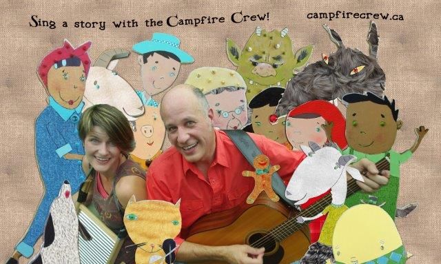 Andrew Queen, Karen Stille and the Campfire Crew