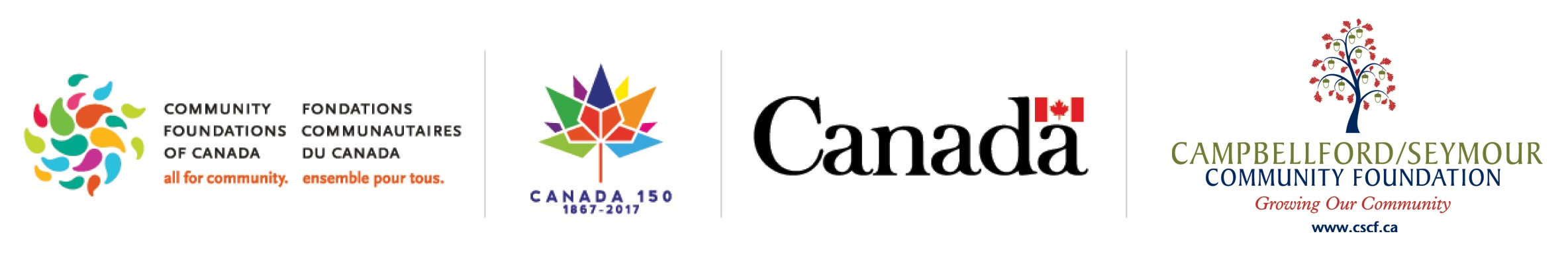 This initiative is made possible by the Community Fund for Canada's 150th, a collaboration between the Campbellford/Seymour Community Foundation, the Government of Canada, and extraordinary leaders from coast to coast to coast.