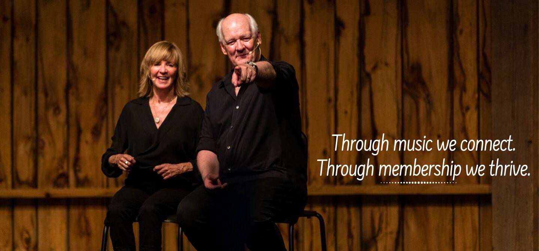 Become a Member - Colin Mochrie & Deb McGrath