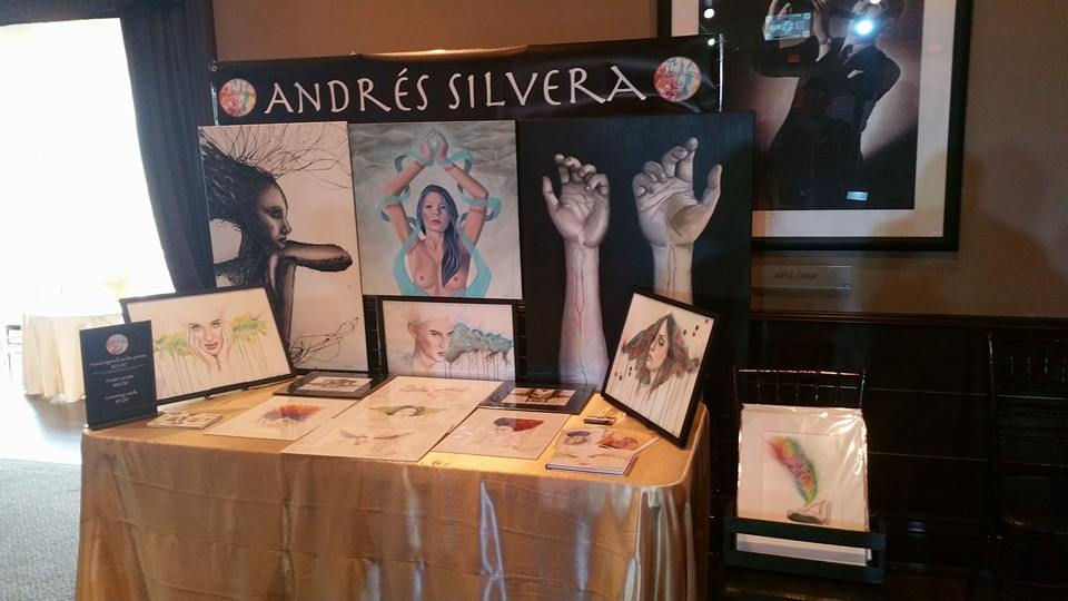 My booth at the show