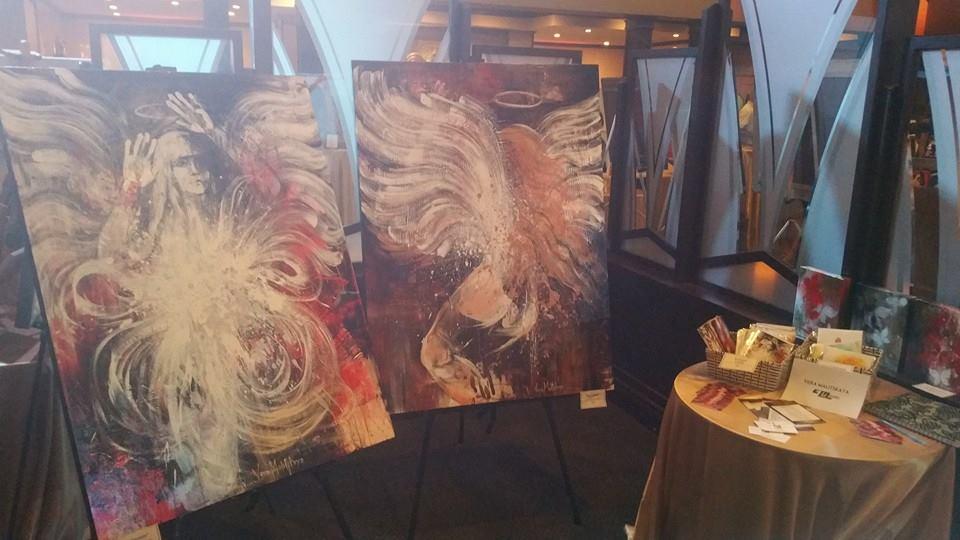 Vera Malitskayas beautiful angel paintings