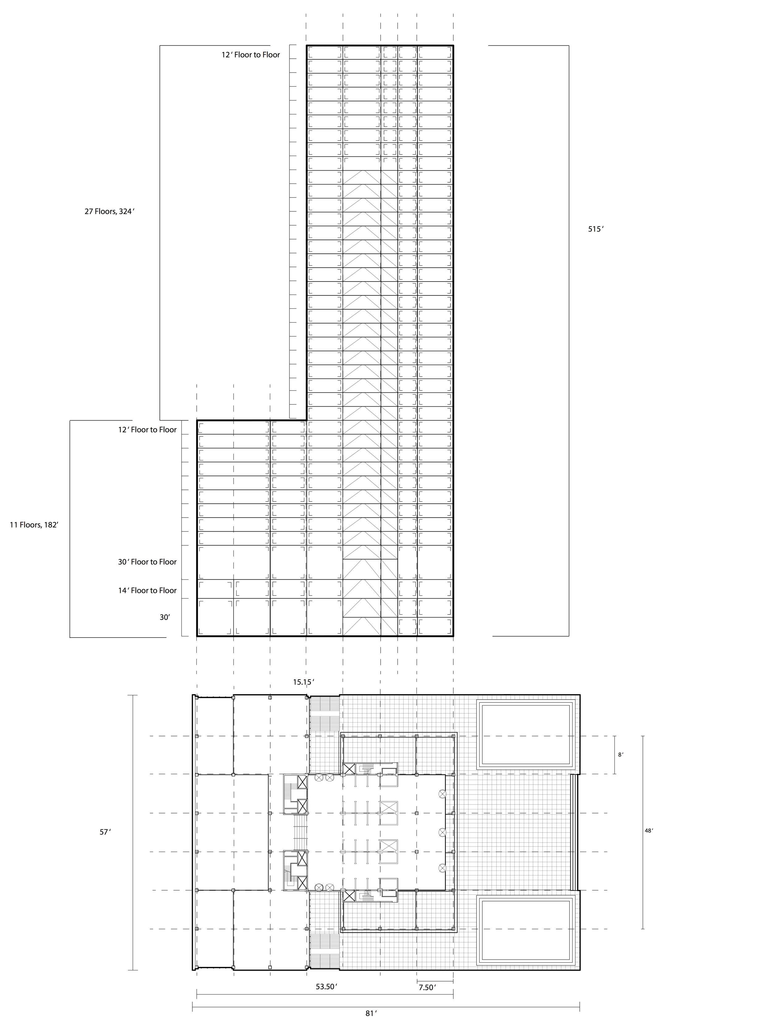 Plan and Section Seagram.jpg