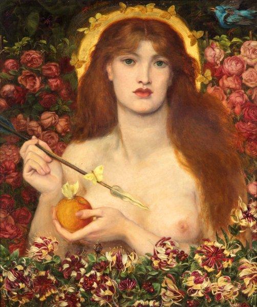 Venus Aphrodite by Rosetti
