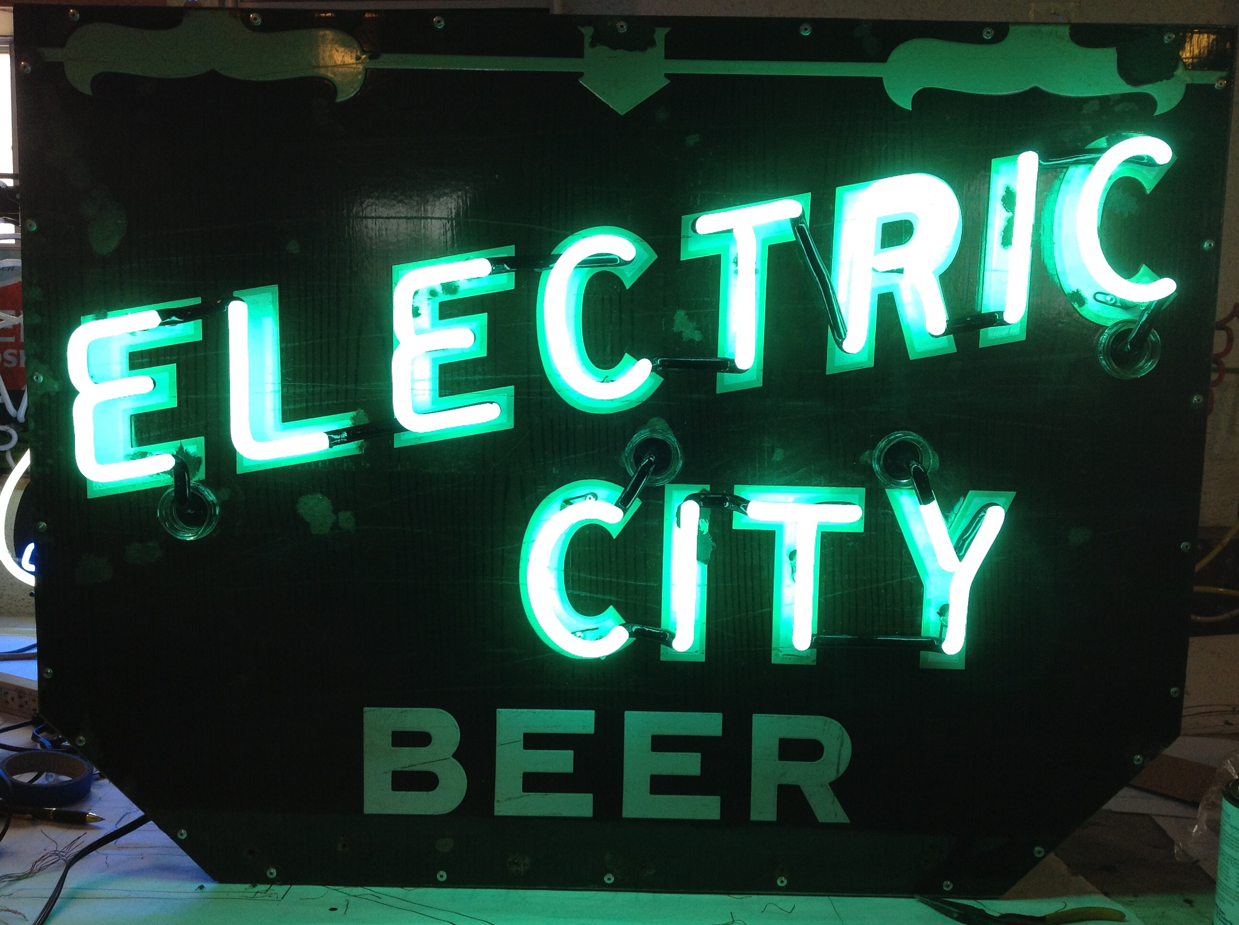 Electric City Beer - Neon & Porcelain