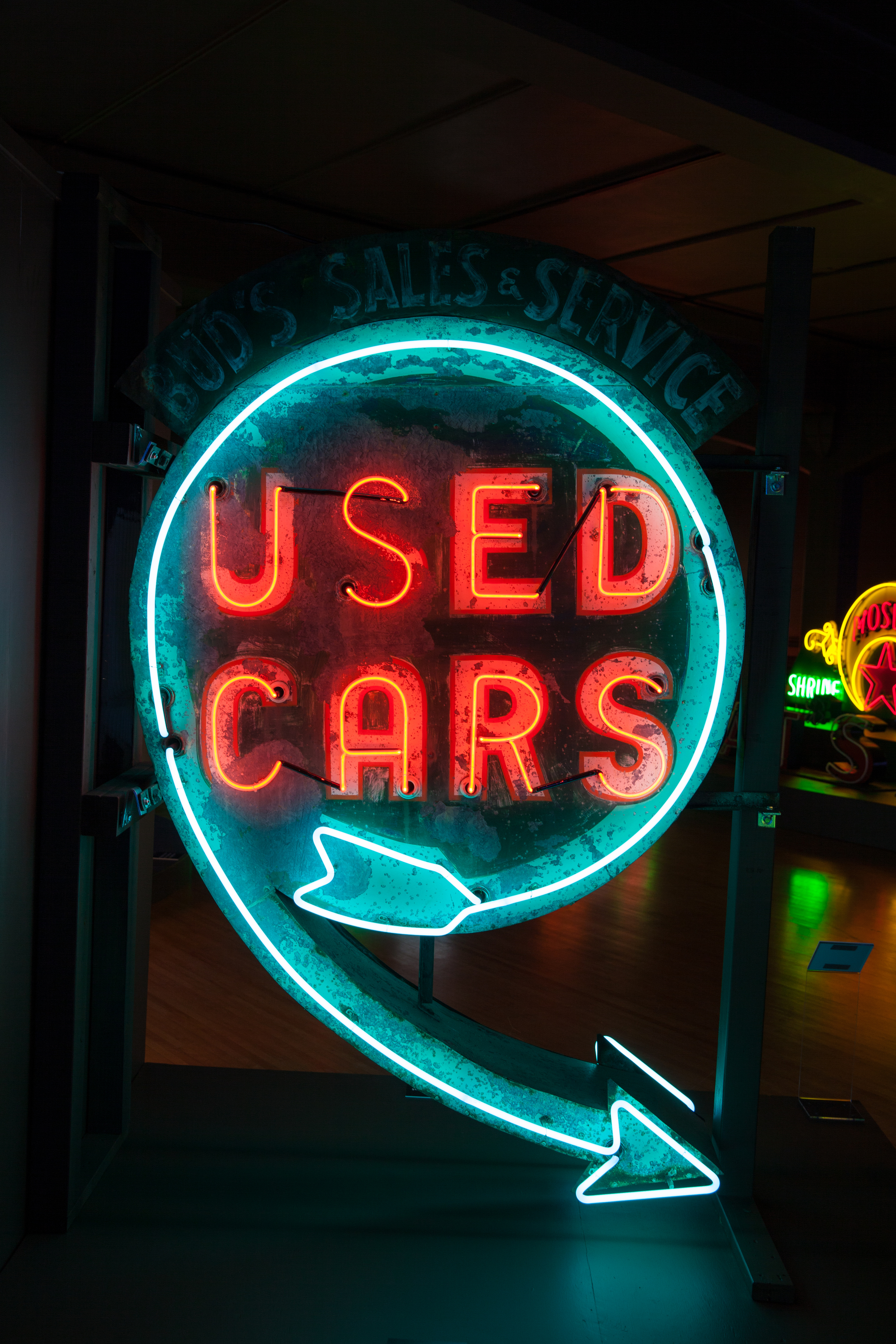 Used Cars - Neon & Paint