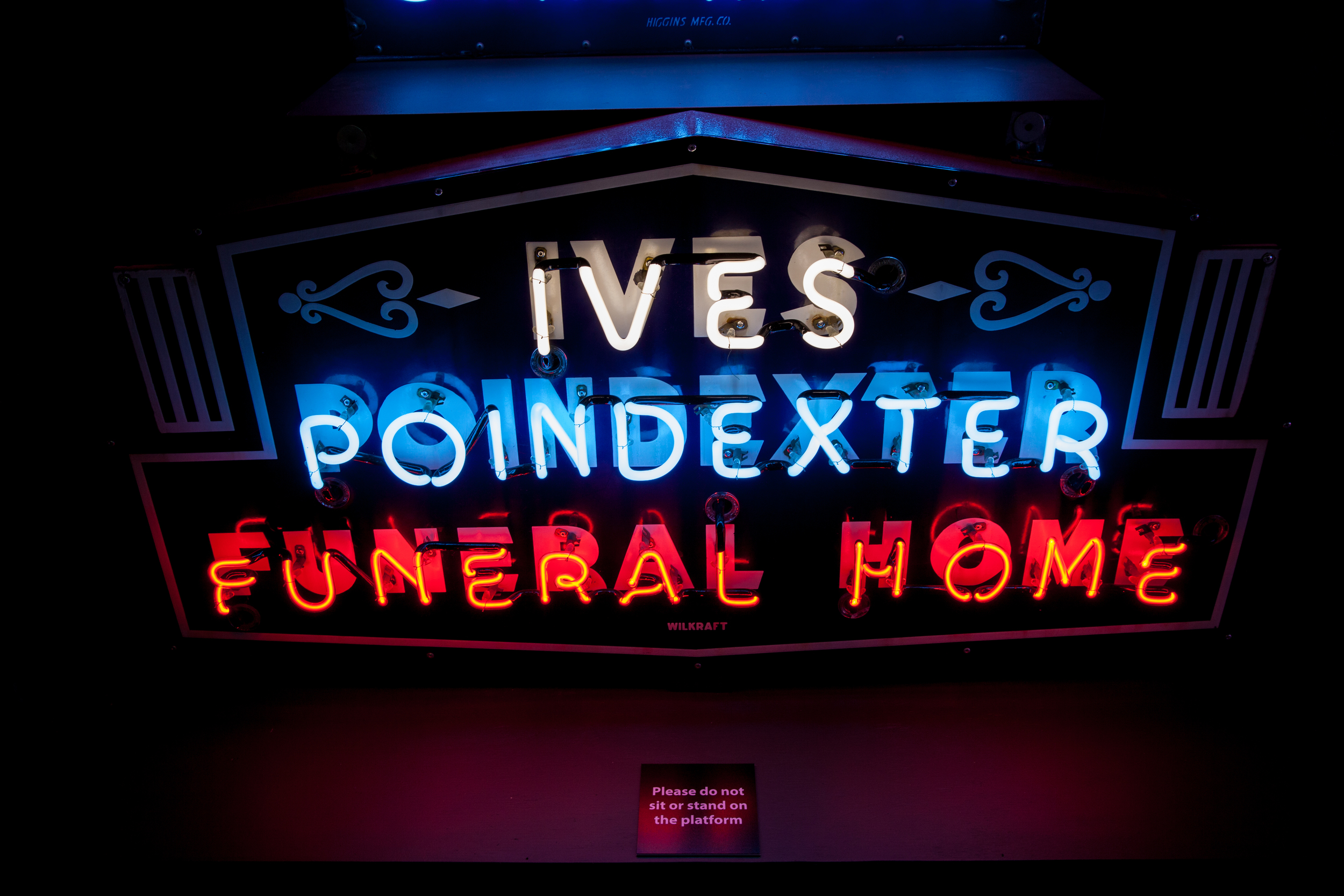 Ives Poindexter Funeral Home - Neon & Porcelain