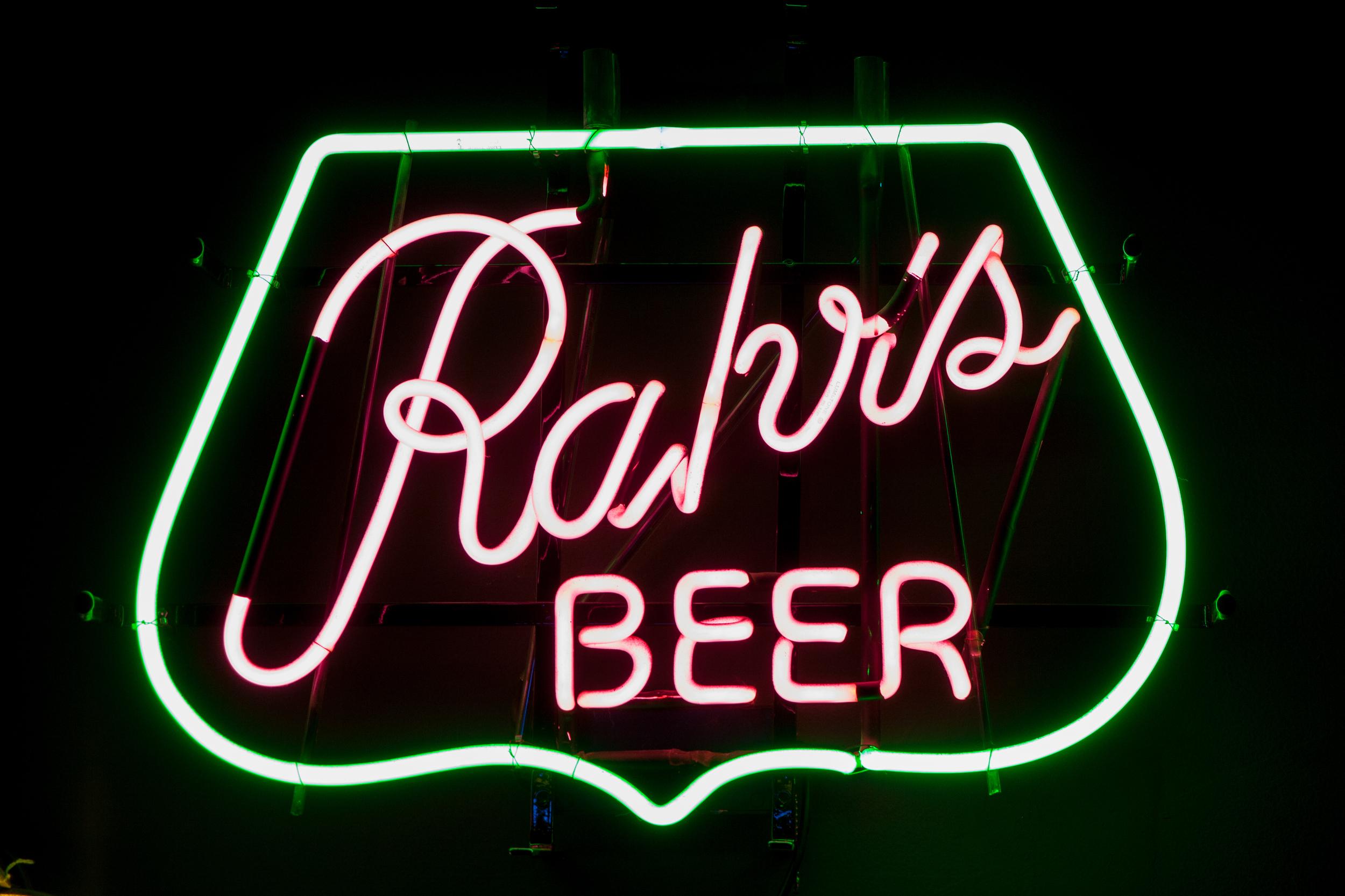 Rahr's Beer Neon Sign