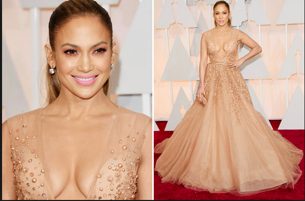 The GORGEOUS J-LO photo courtesy of celebuzz.com Oscars 2015
