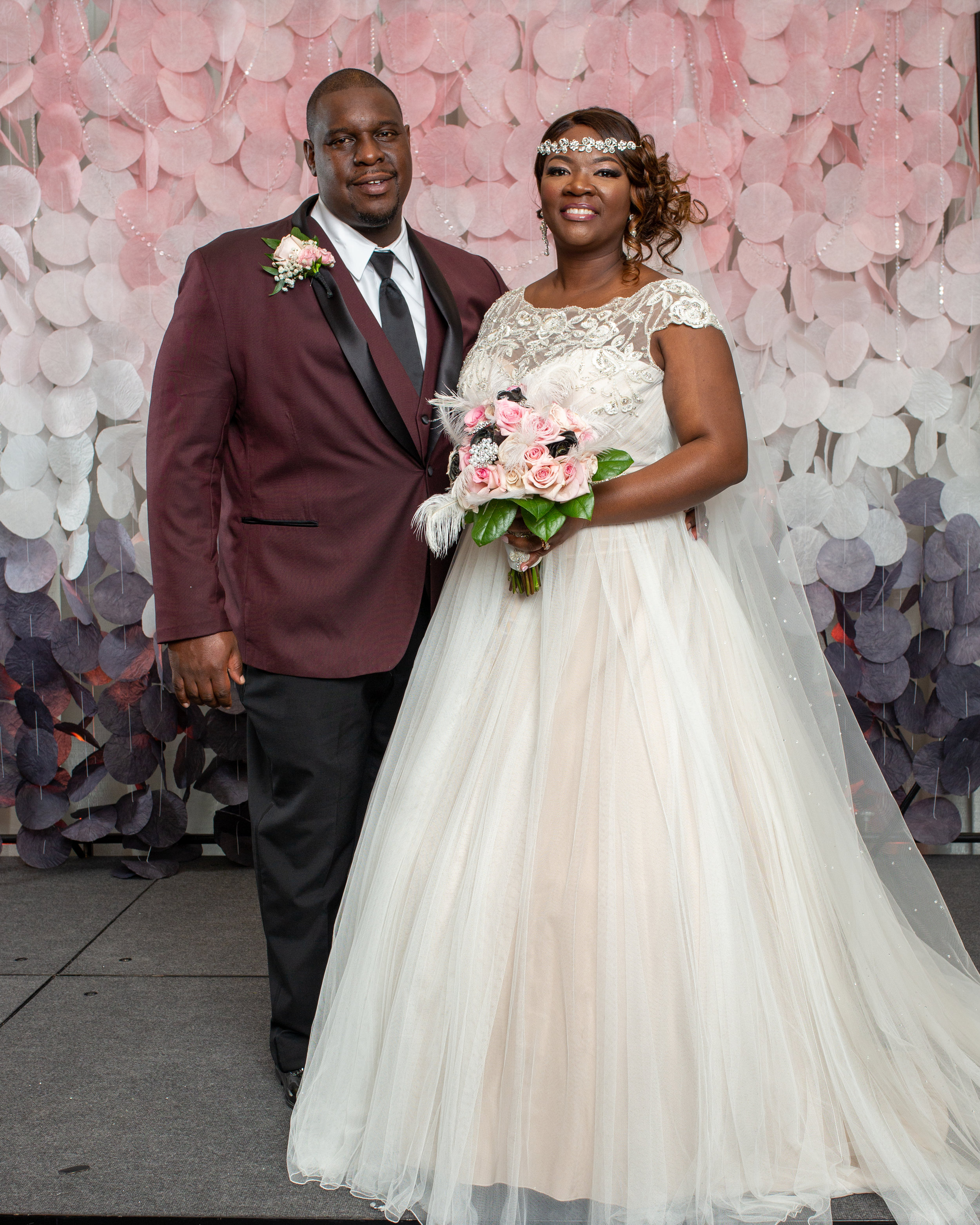 Official Royal Wedding Pictures.Xavier Juanisha Virginia Beach Convention Center Official Royal