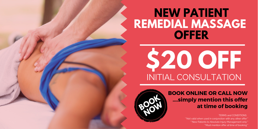 New Patient Remedial Massage Offer