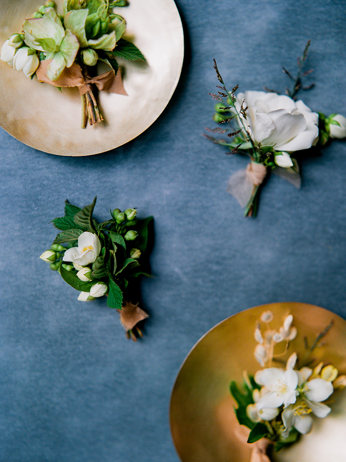styled shoot with film photography by Brittany Mahood, florals by Heather Page, and stationery by Jennifer Bianca.