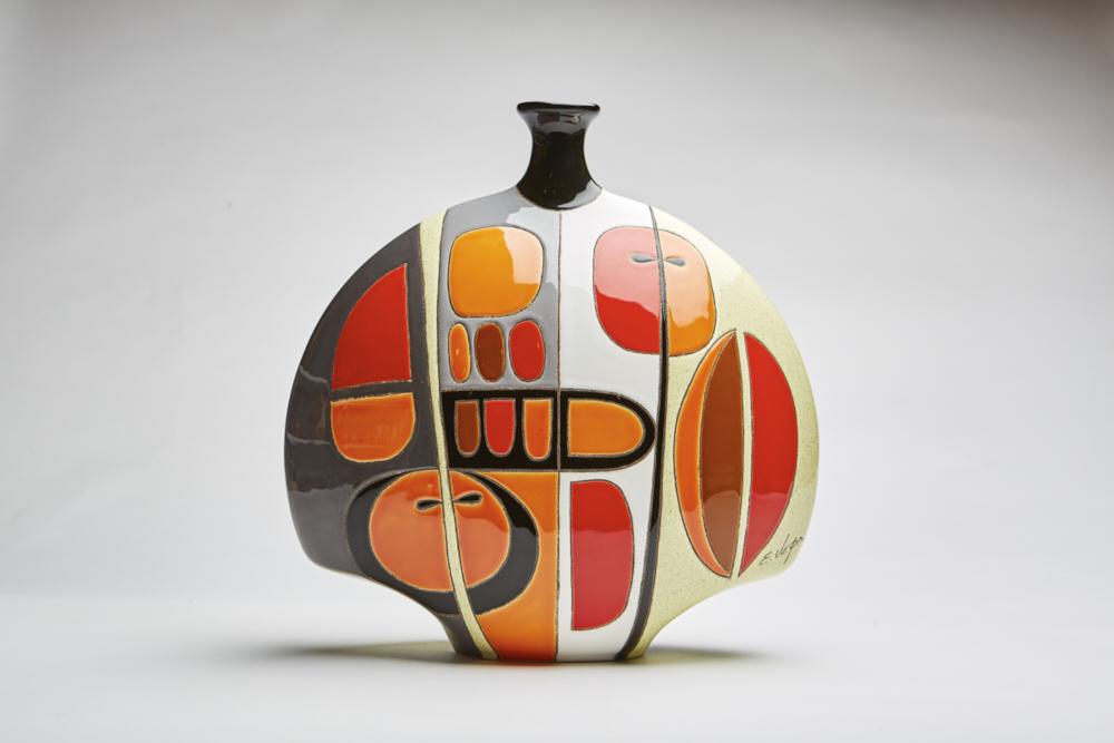 Muralist Eduardo Vega Collection - Fine Artistic Ceramic from Ecuador