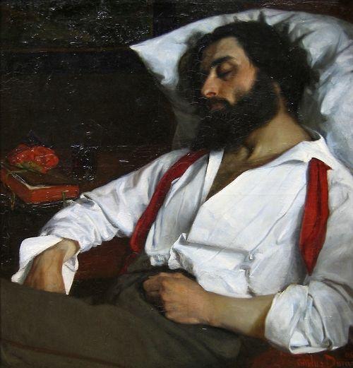 Carolus-Duran- L'Homme endormi, 1861