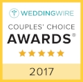 Wedding Wire Couples Choice Award 2017 Winner
