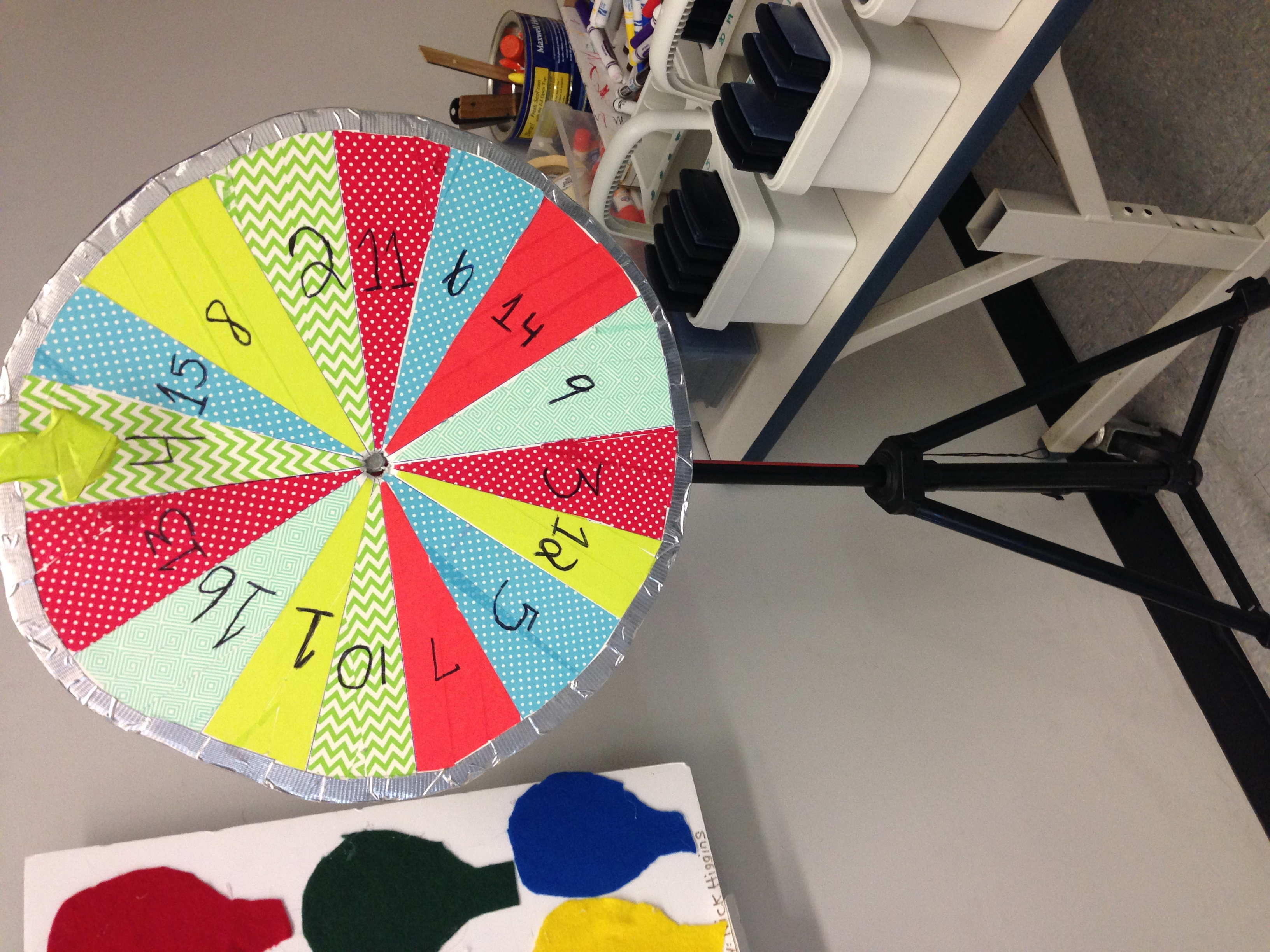 The math work and the rules of the game are usually handed in separately for this project.