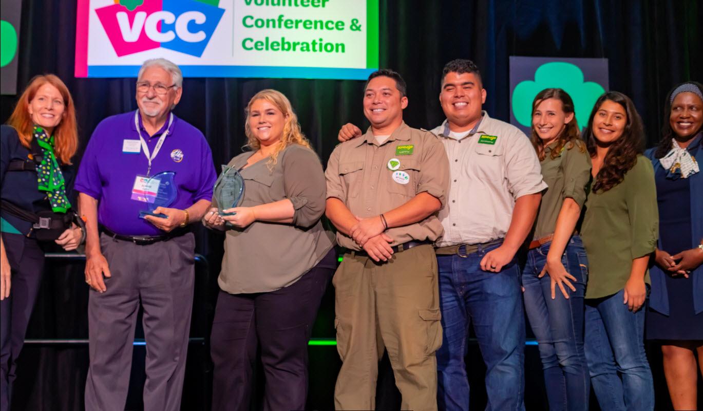 2018 Girl Scouts San Diego    Friendship Award Winner