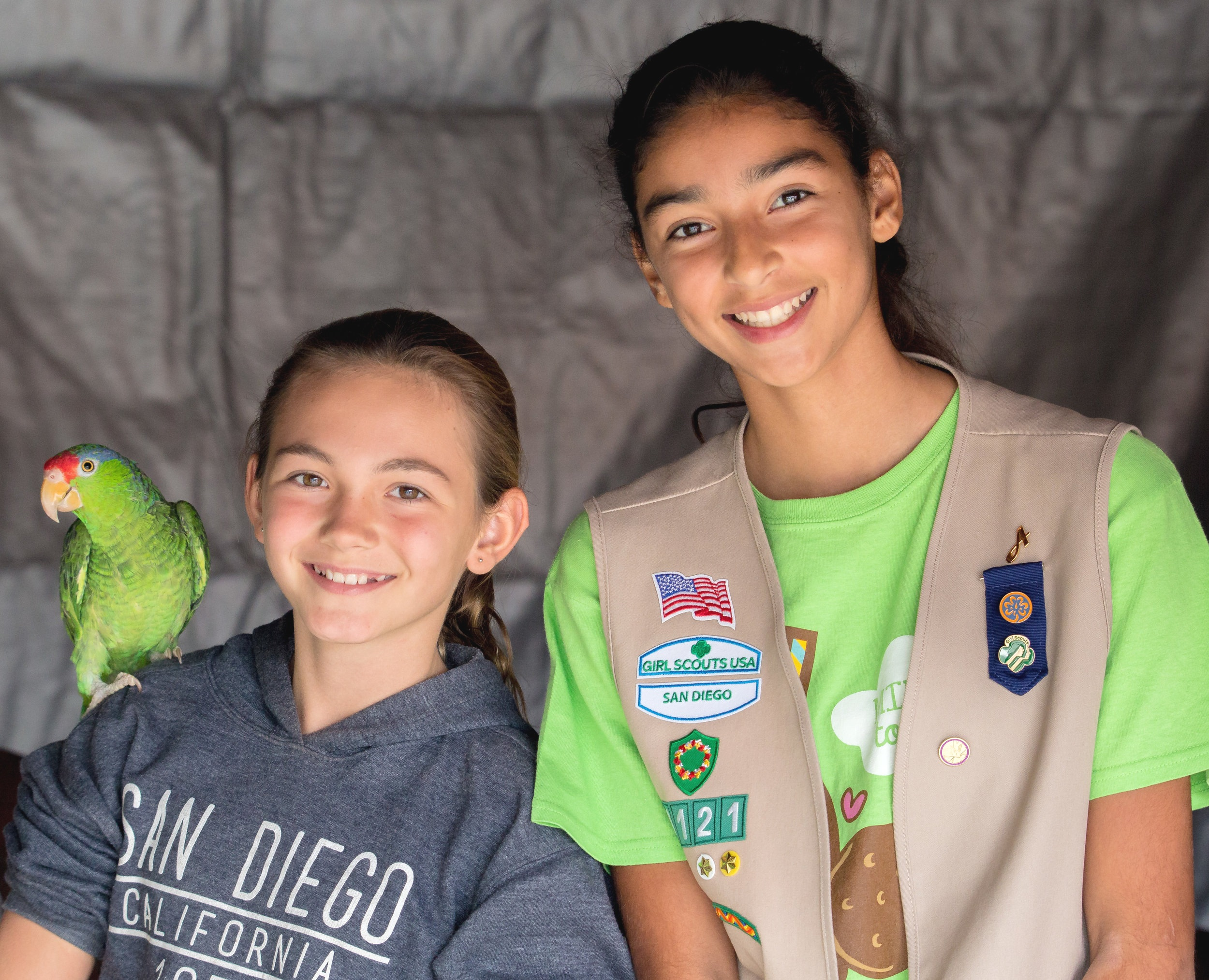 Girl Scout Cadettes Zovargo