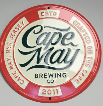Cape May Brewing Company recently underwent a rebranding, including all new logos and designs.