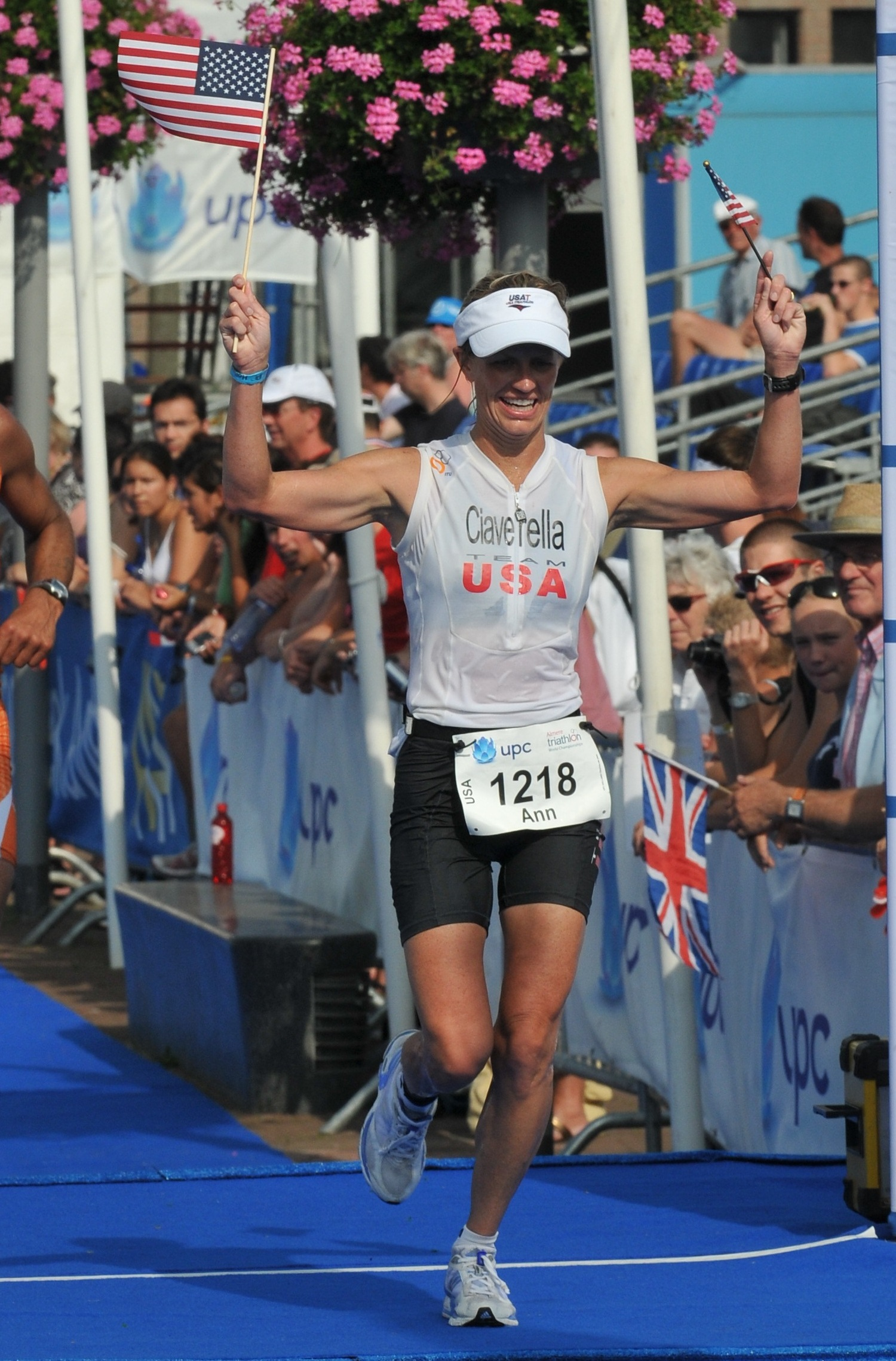 Ann finishes top amateur female, USA gold, and female amateur course record at ITU World Long Course, Amsterdam.
