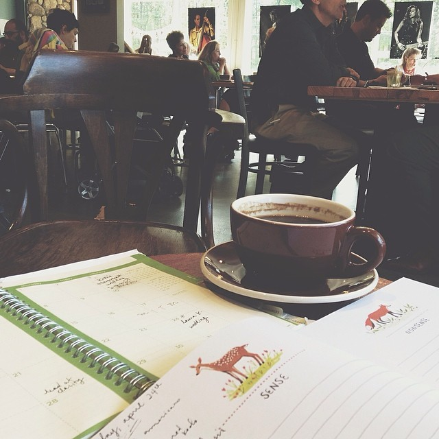 coffee + writing