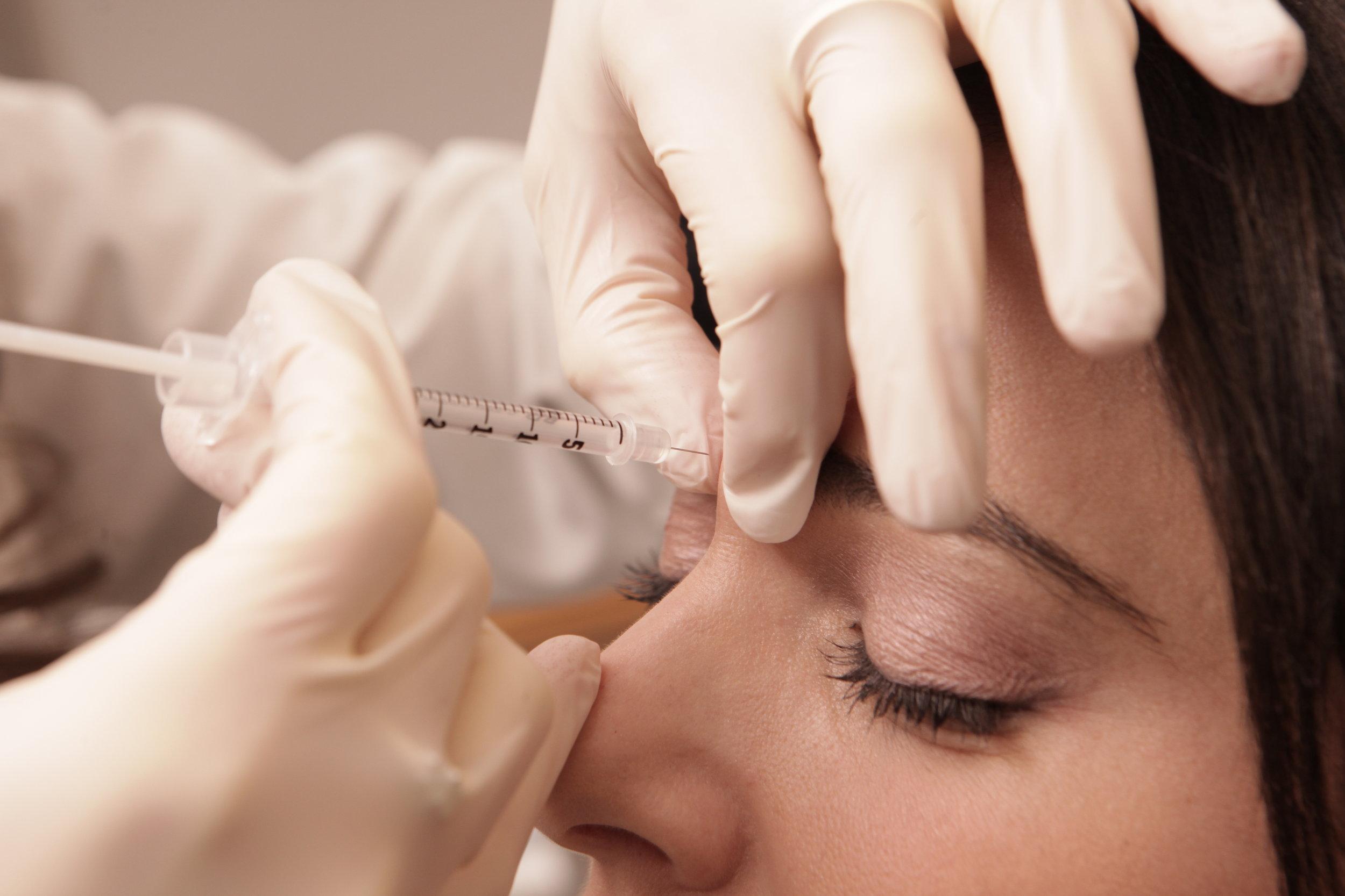 NEUROTOXINS - Because a brow should never furrow…
