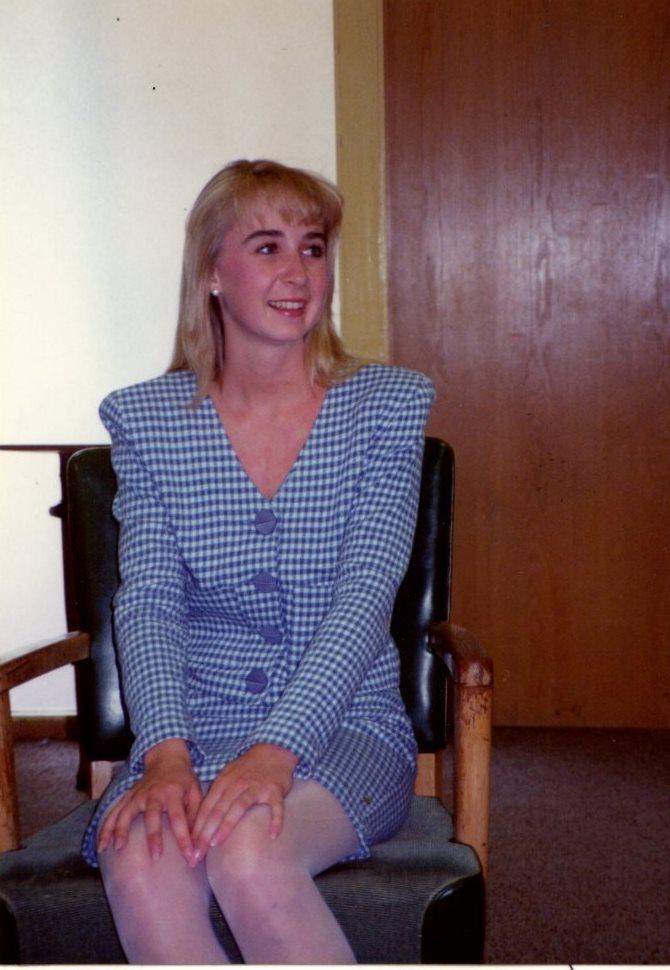 Kelliie Duckett, Class of '91.