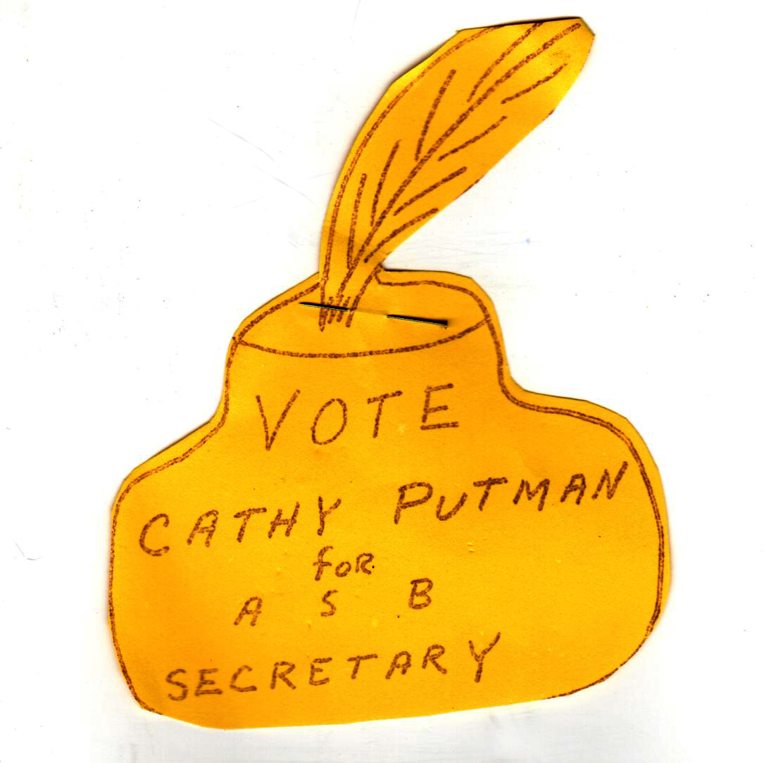 Don't forget to vote for Cathy Putman!!! '77