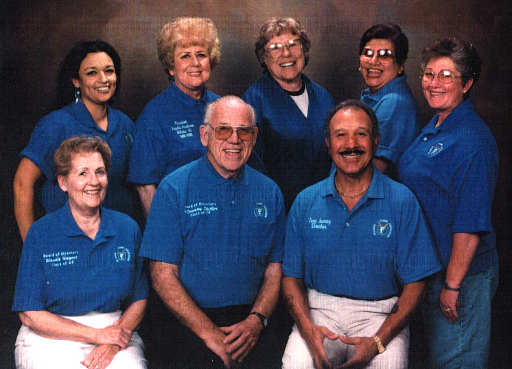 Photo. Circa 1980's. Alumni Board of Directors.