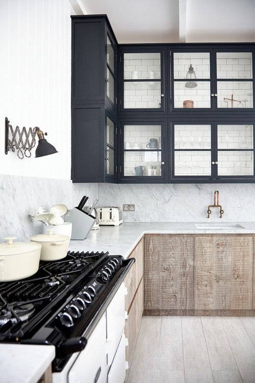 modern kitchen white marble
