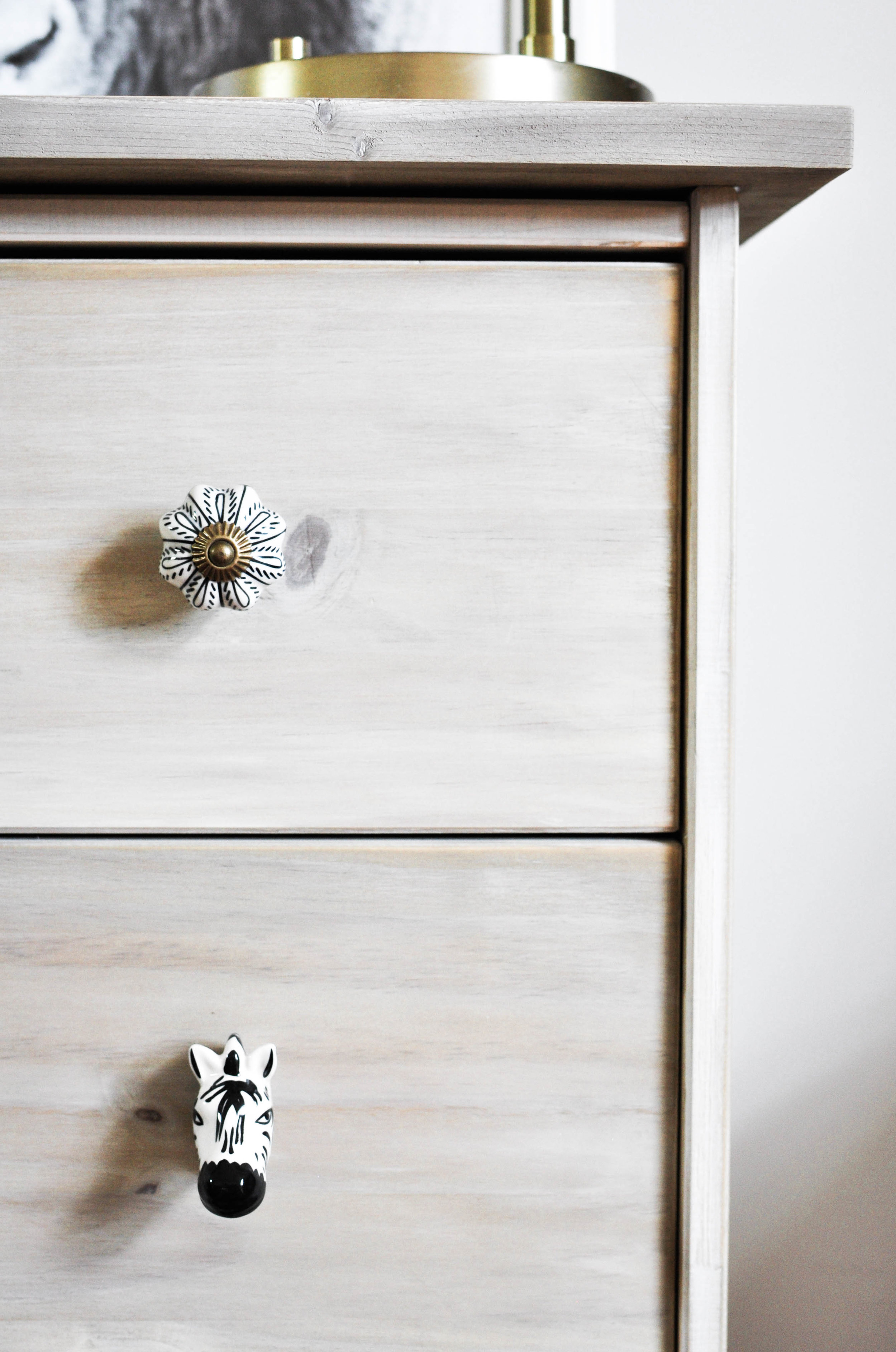 ikea rast wooden nightstand hack