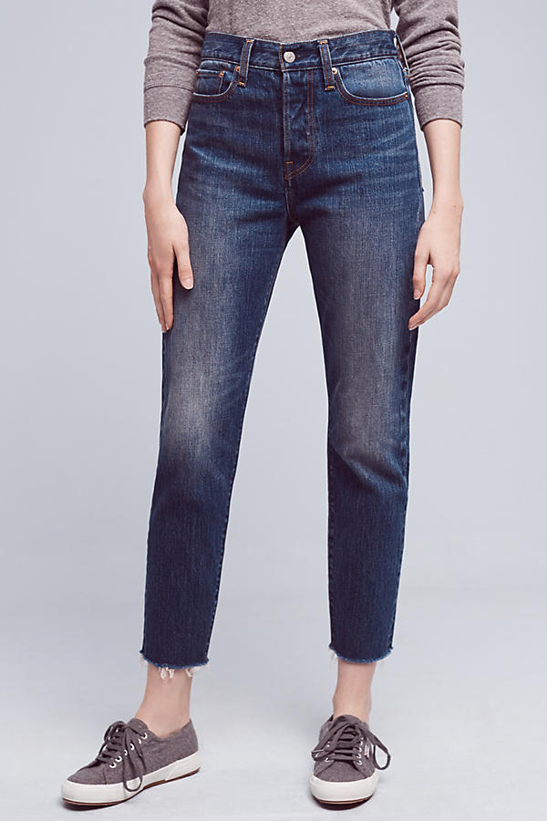 Women's ankle length jeans