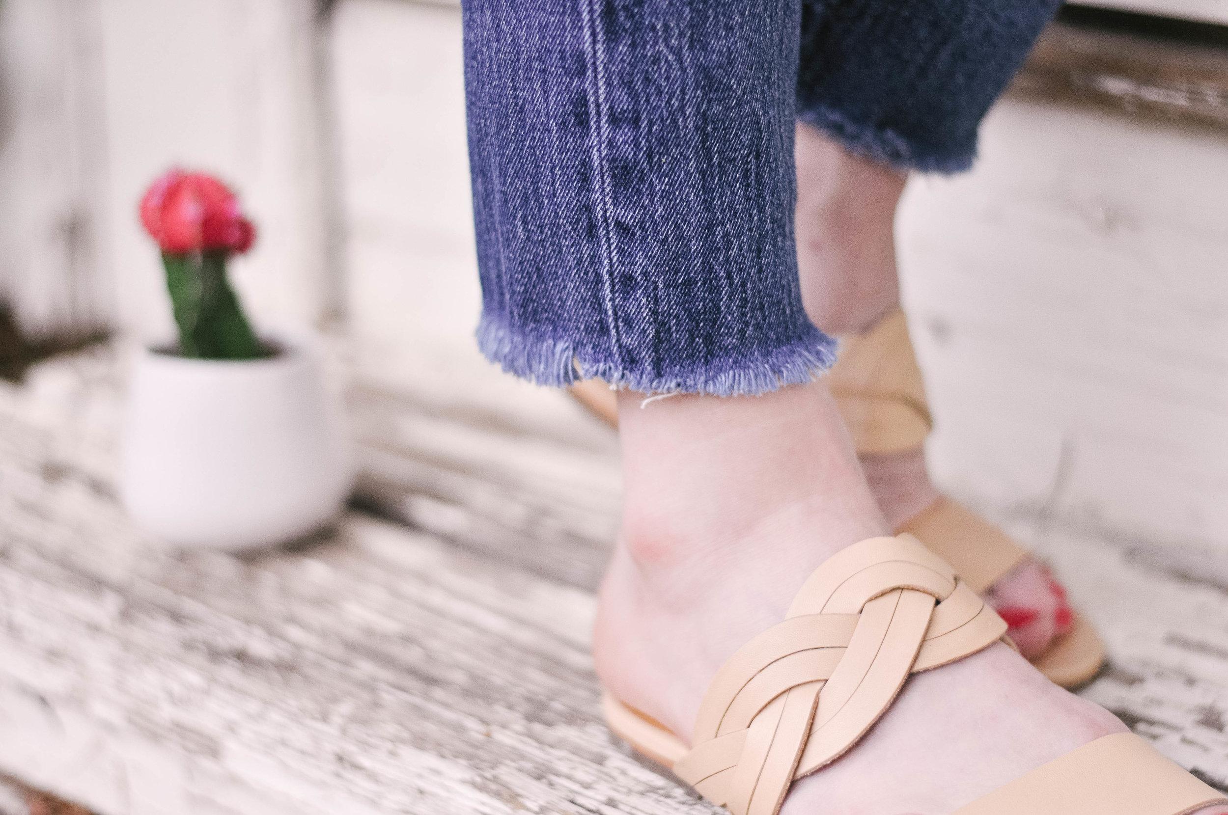 CC Corso Como perfect leather sandal