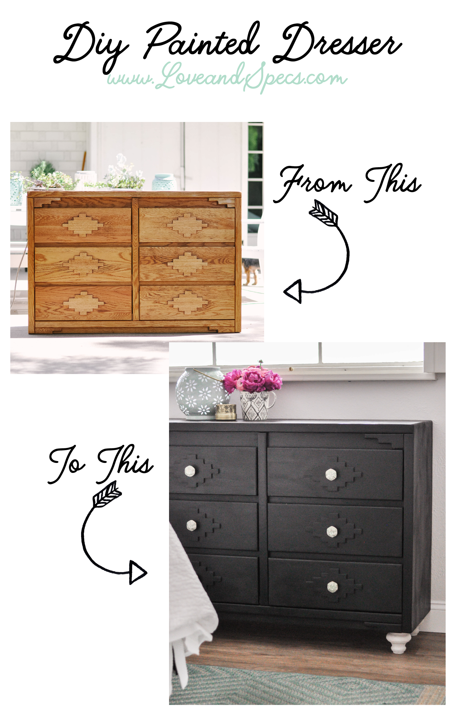 Diy Painted Dresser Love And Specs