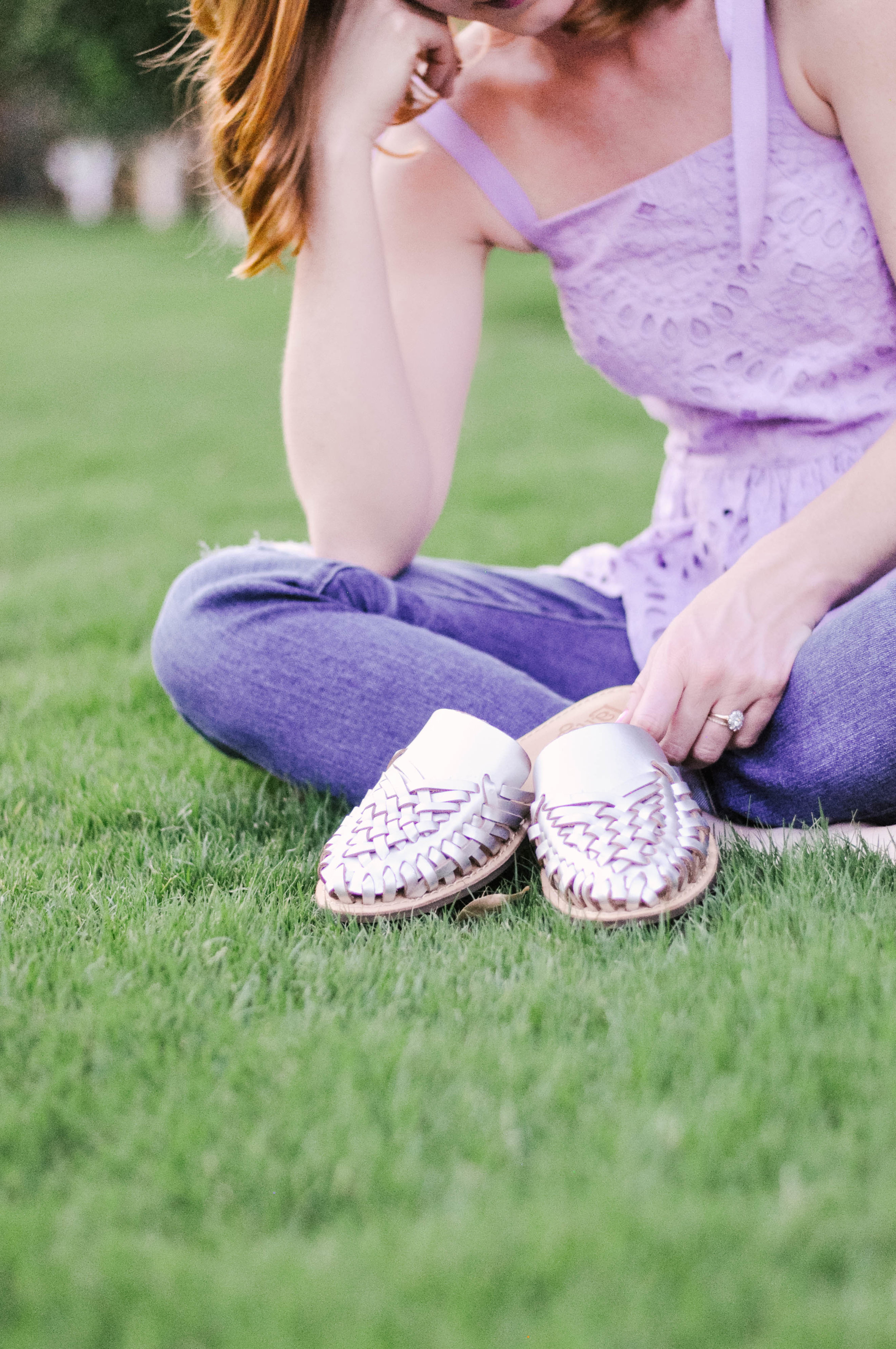 Latigo Hibiscus Shoes