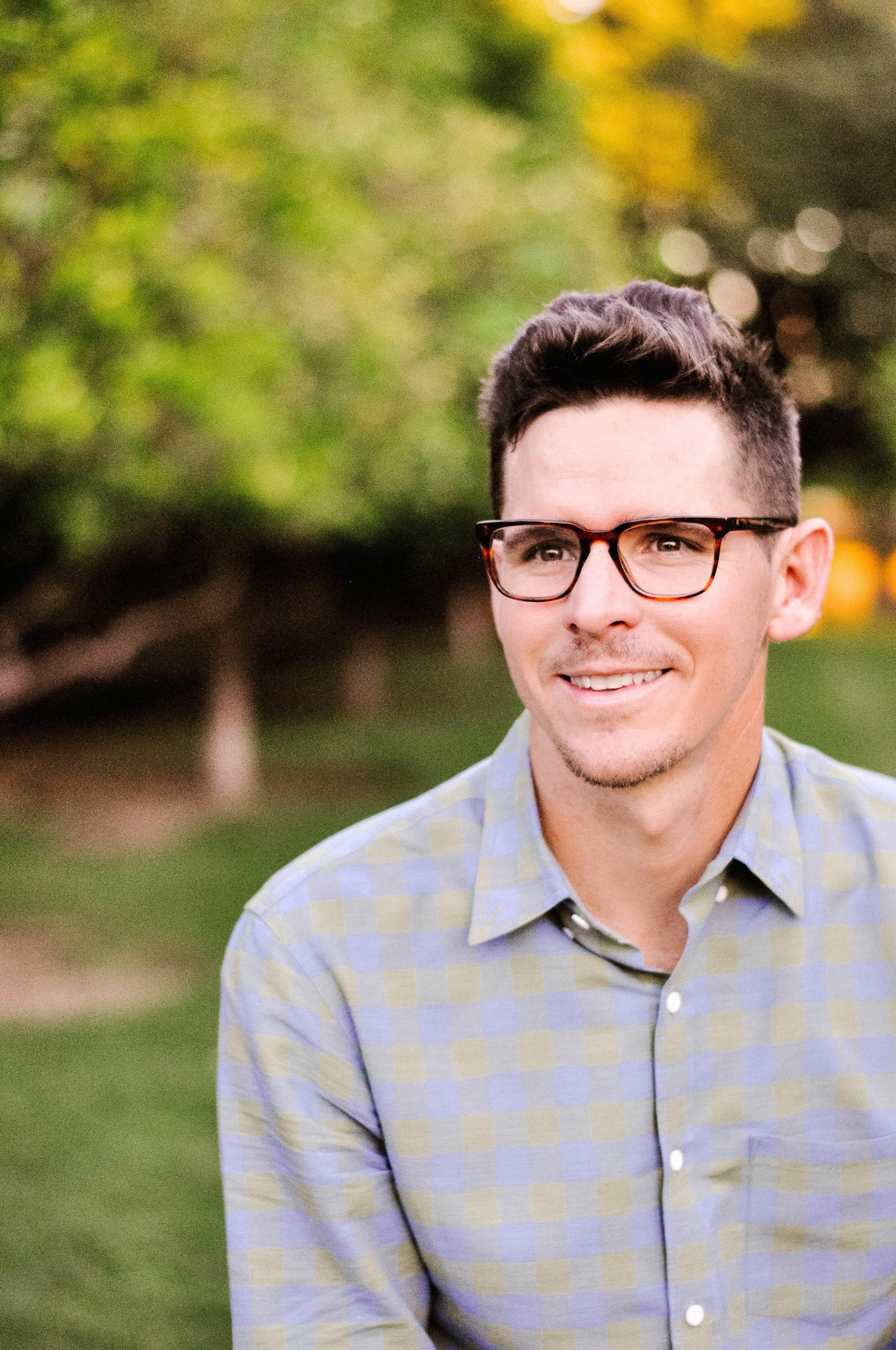 Mens Warby Parker Burke Glasses, Mens J.Crew Shirt