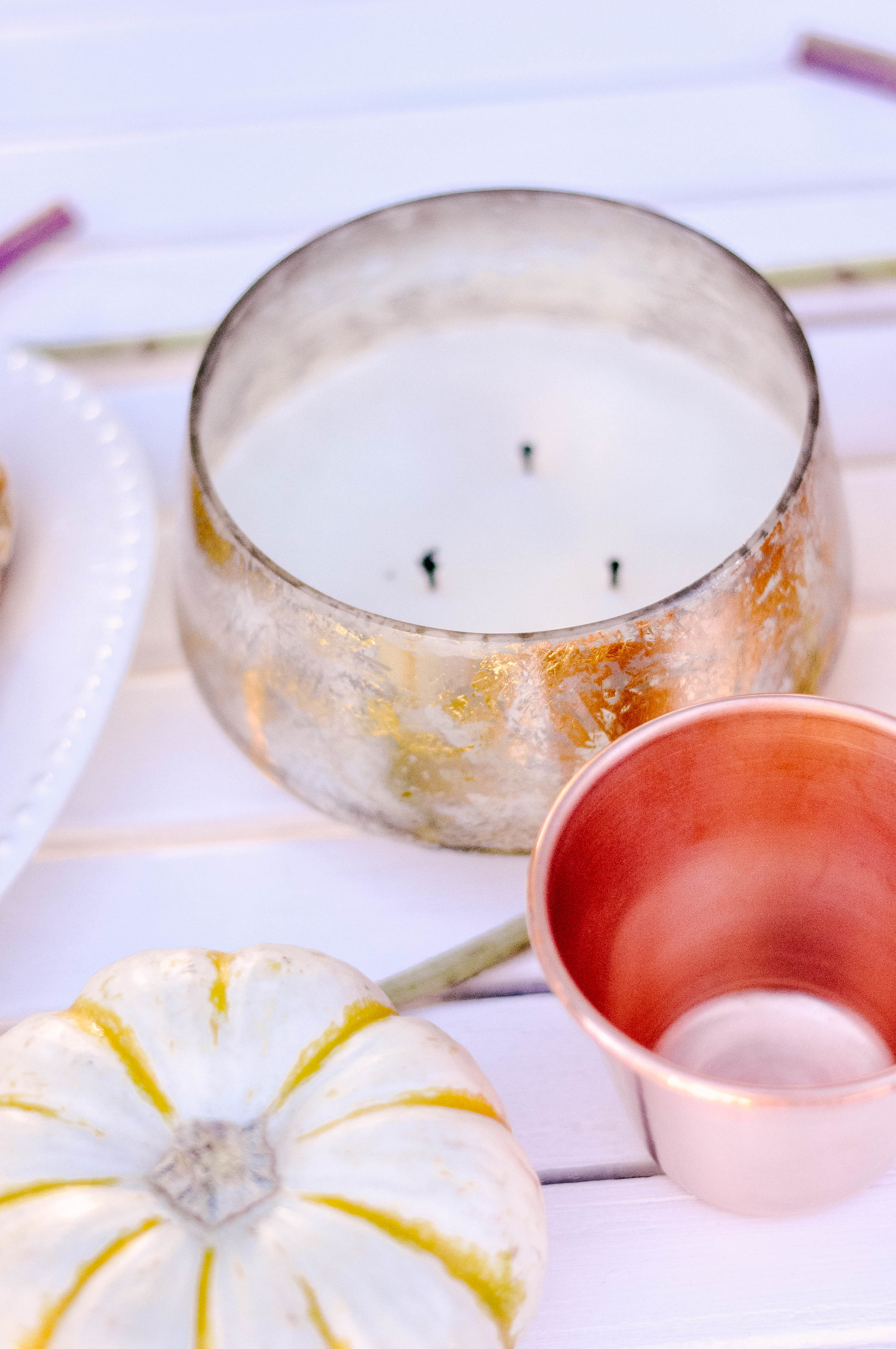 Vanilla and Cinnamon Anthropologie Candle