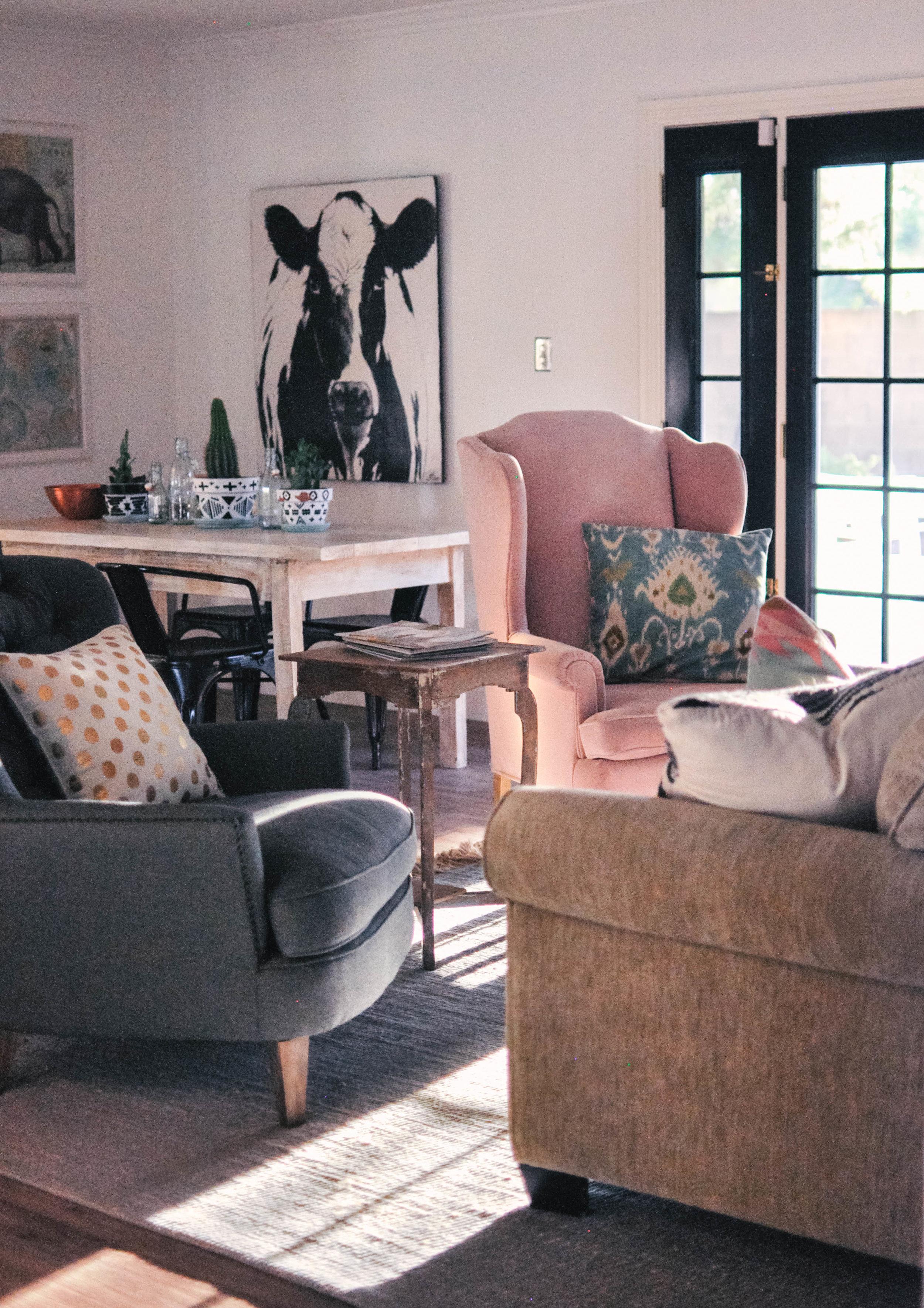 Budget Friendly Living Room Remodel