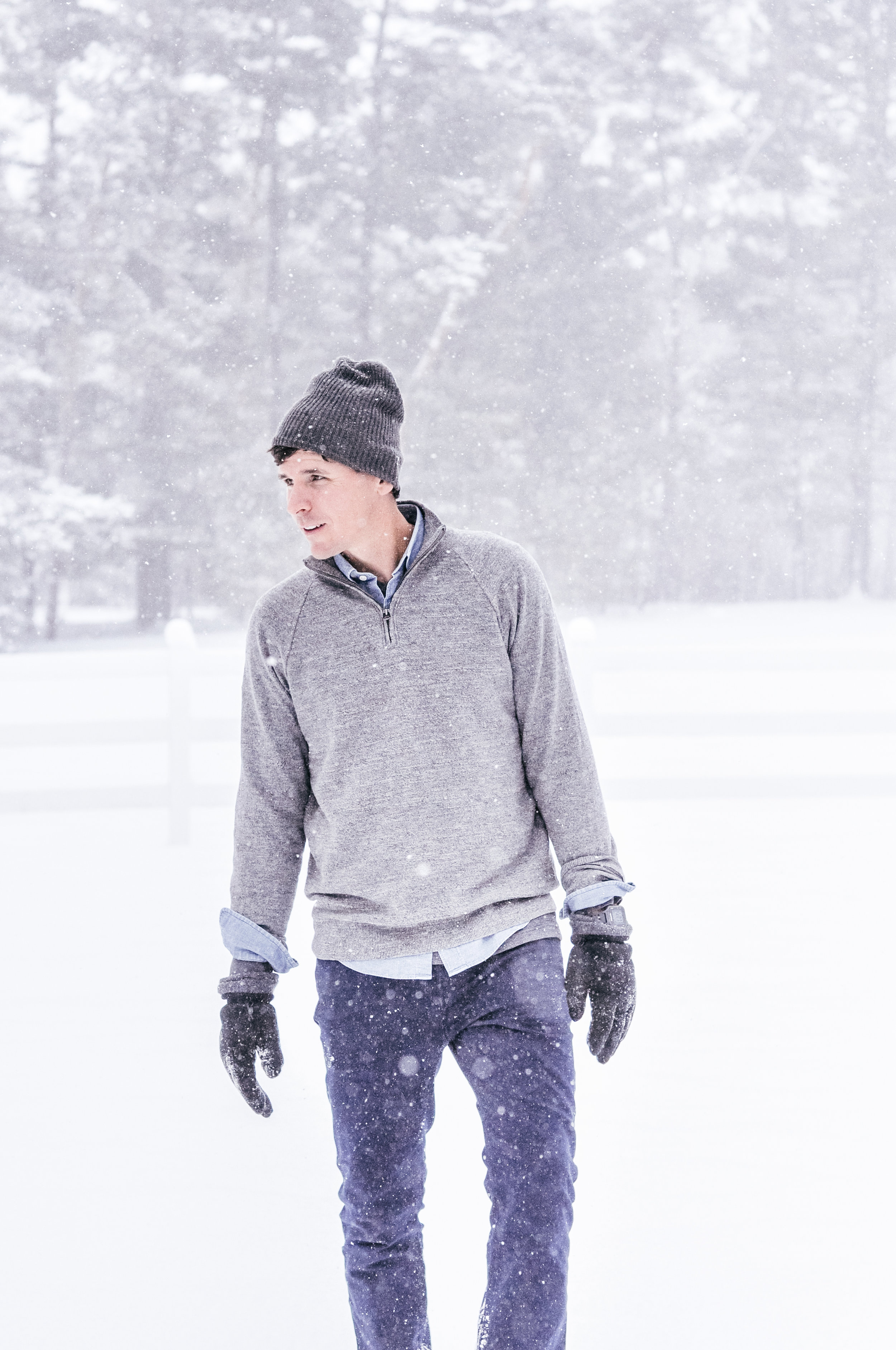 Grey J.Crew Sweater for Men