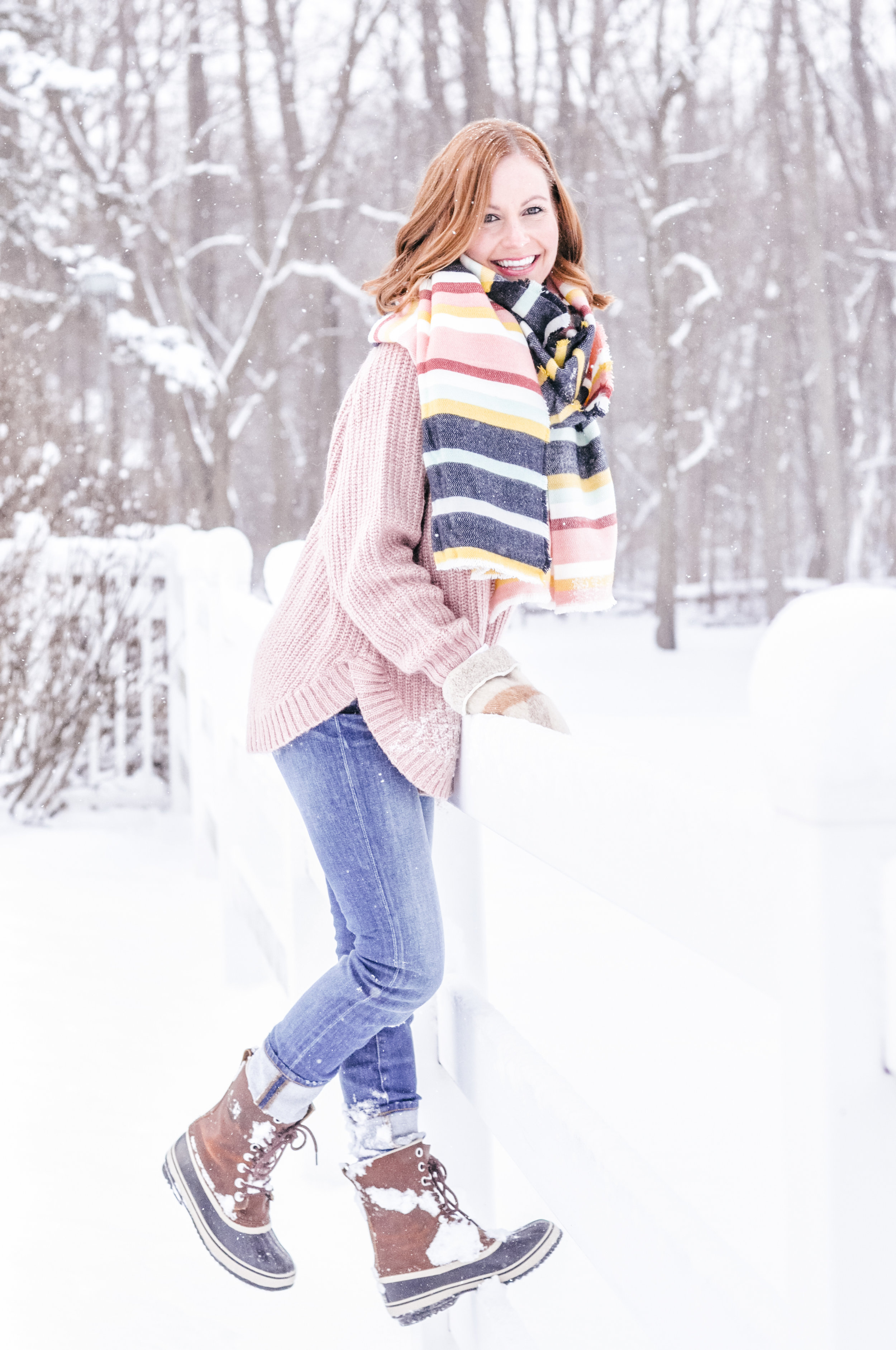 How to Style Sweaters for Winter Women