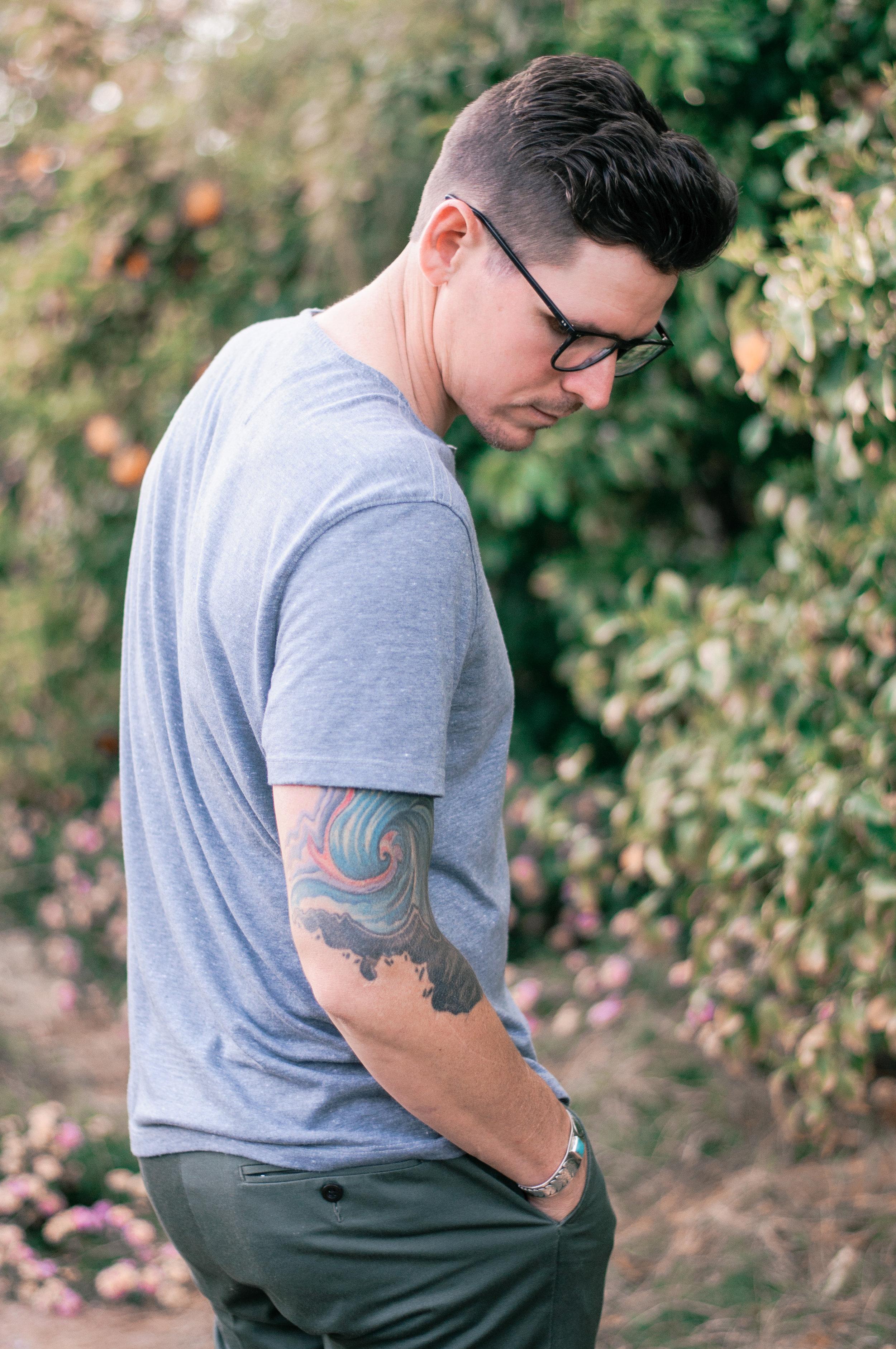 Men's EyeBuyDirect Exposure Eyeglasses in Jet Black