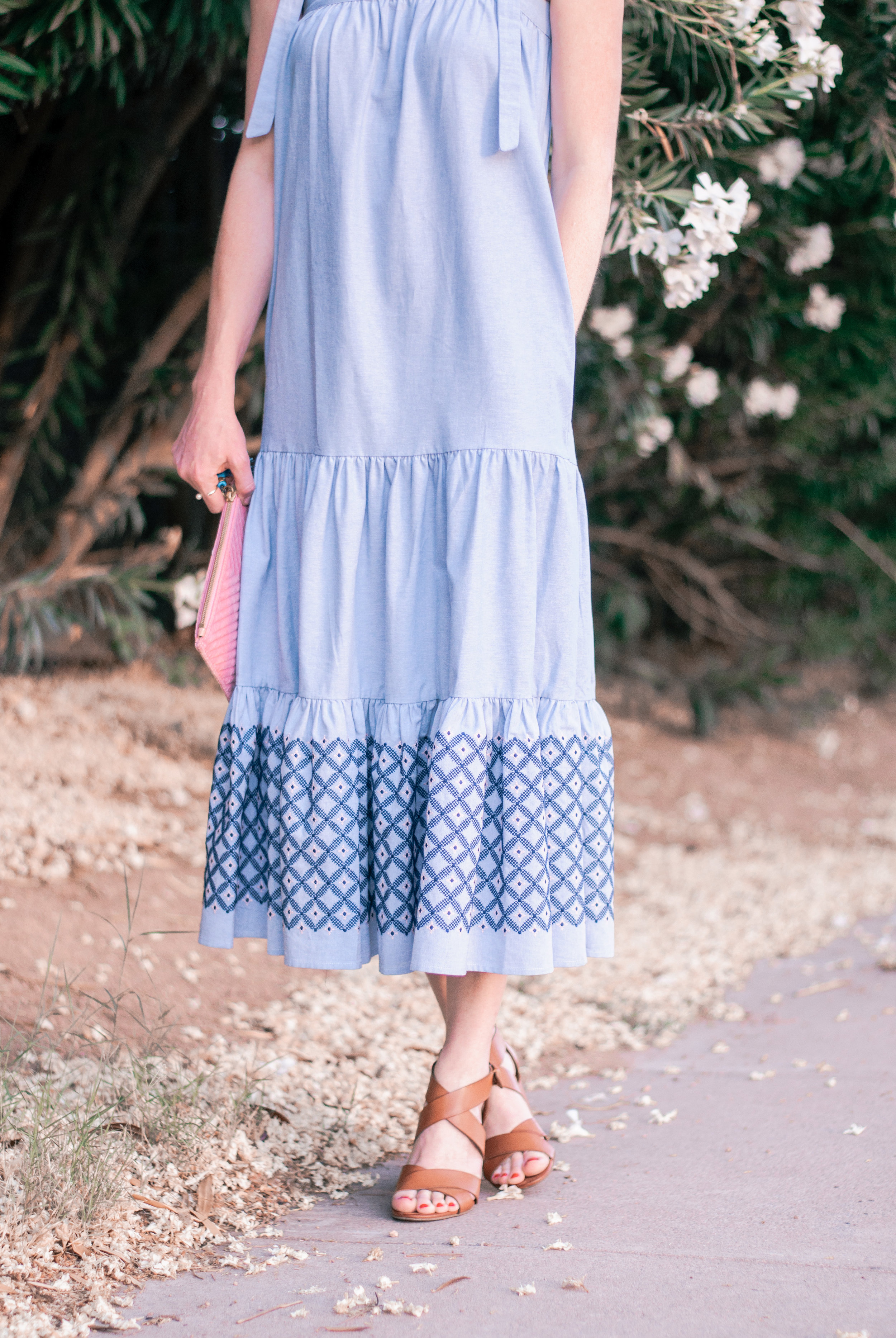 Women's Chambray Dress for Summer