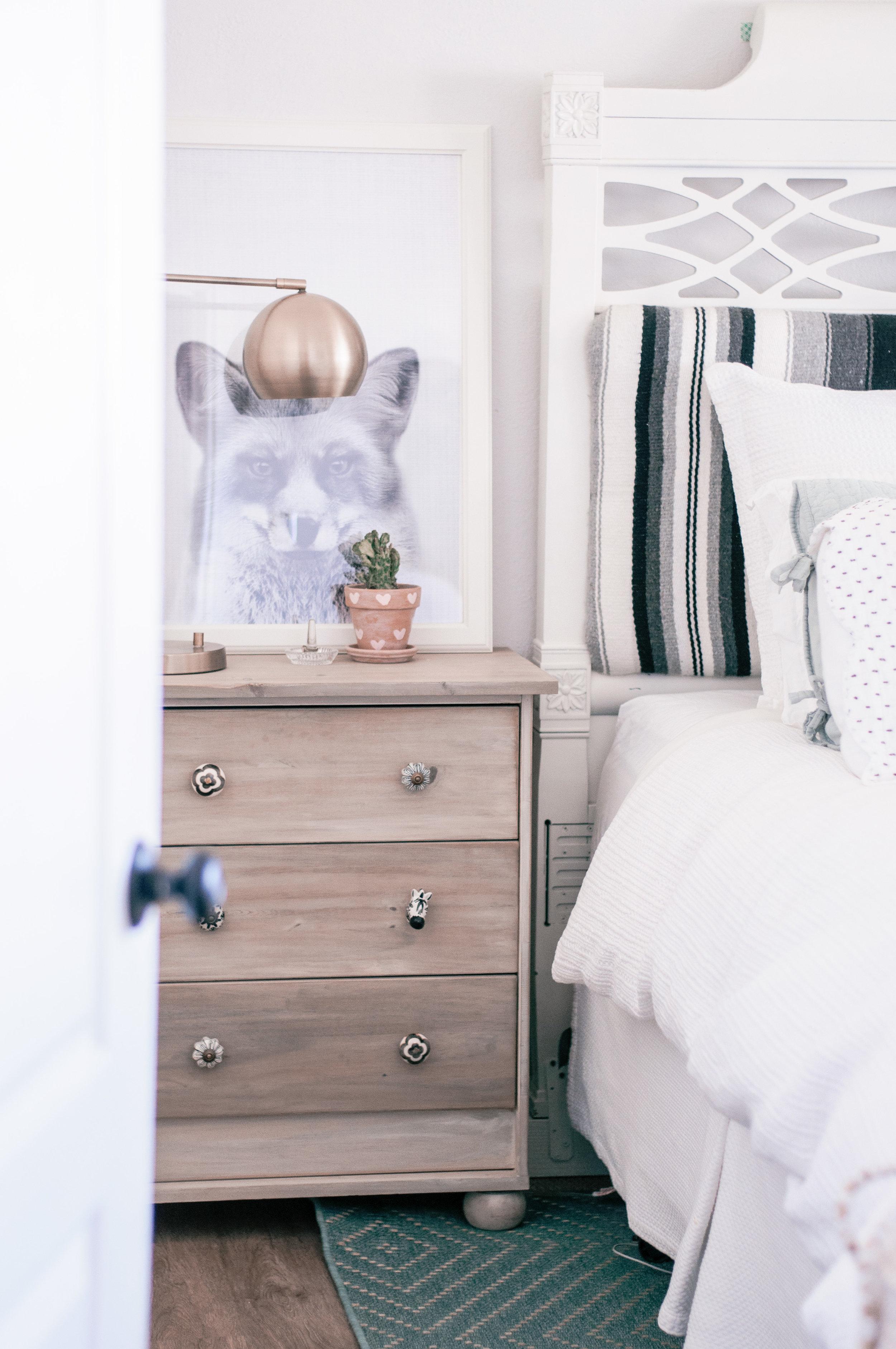 Cozy Neutral Farmhouse Master Bedroom Makeover