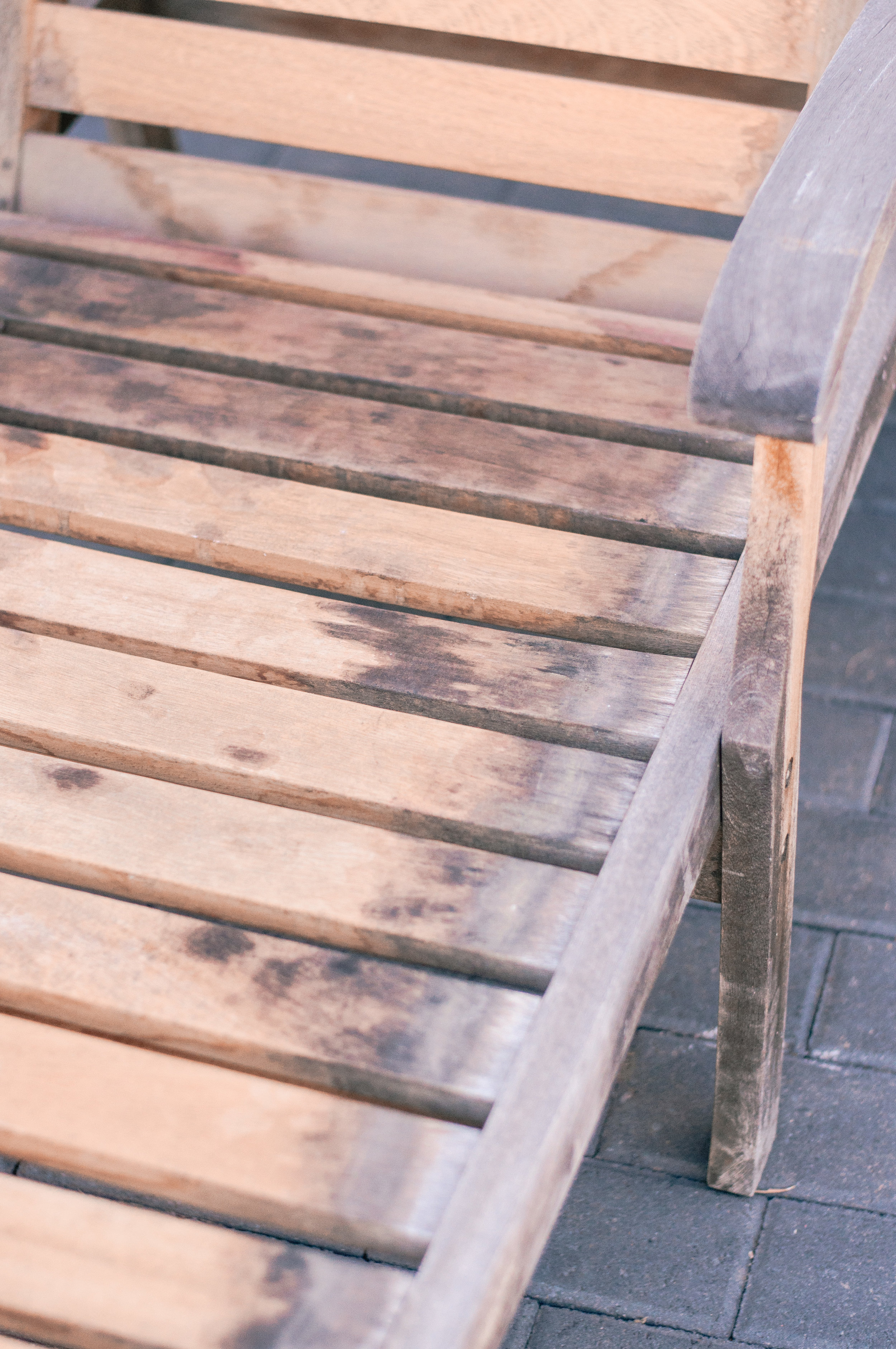 Restoring Teak Wood