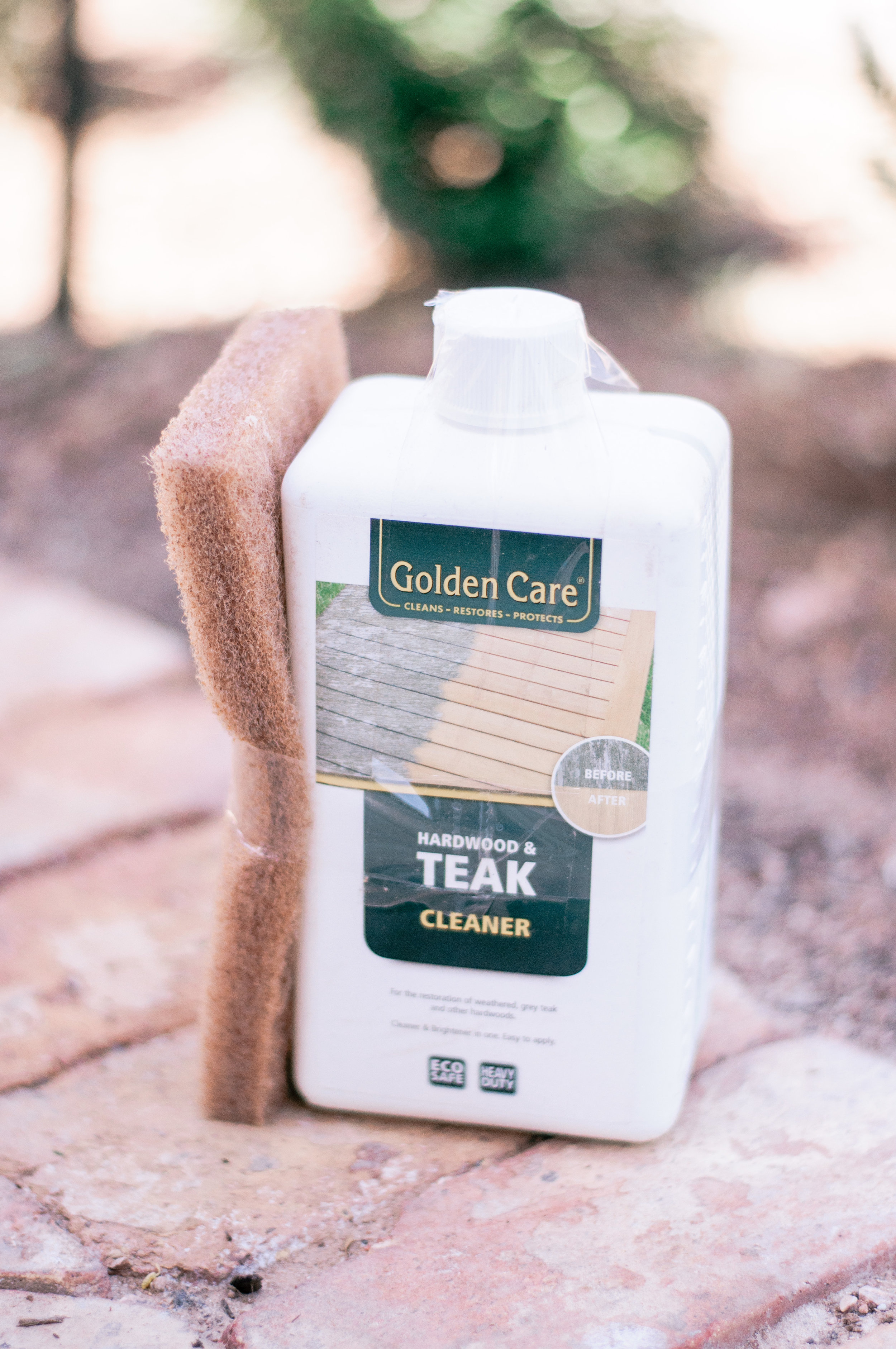 How To Use Golden Care Teak Cleaner