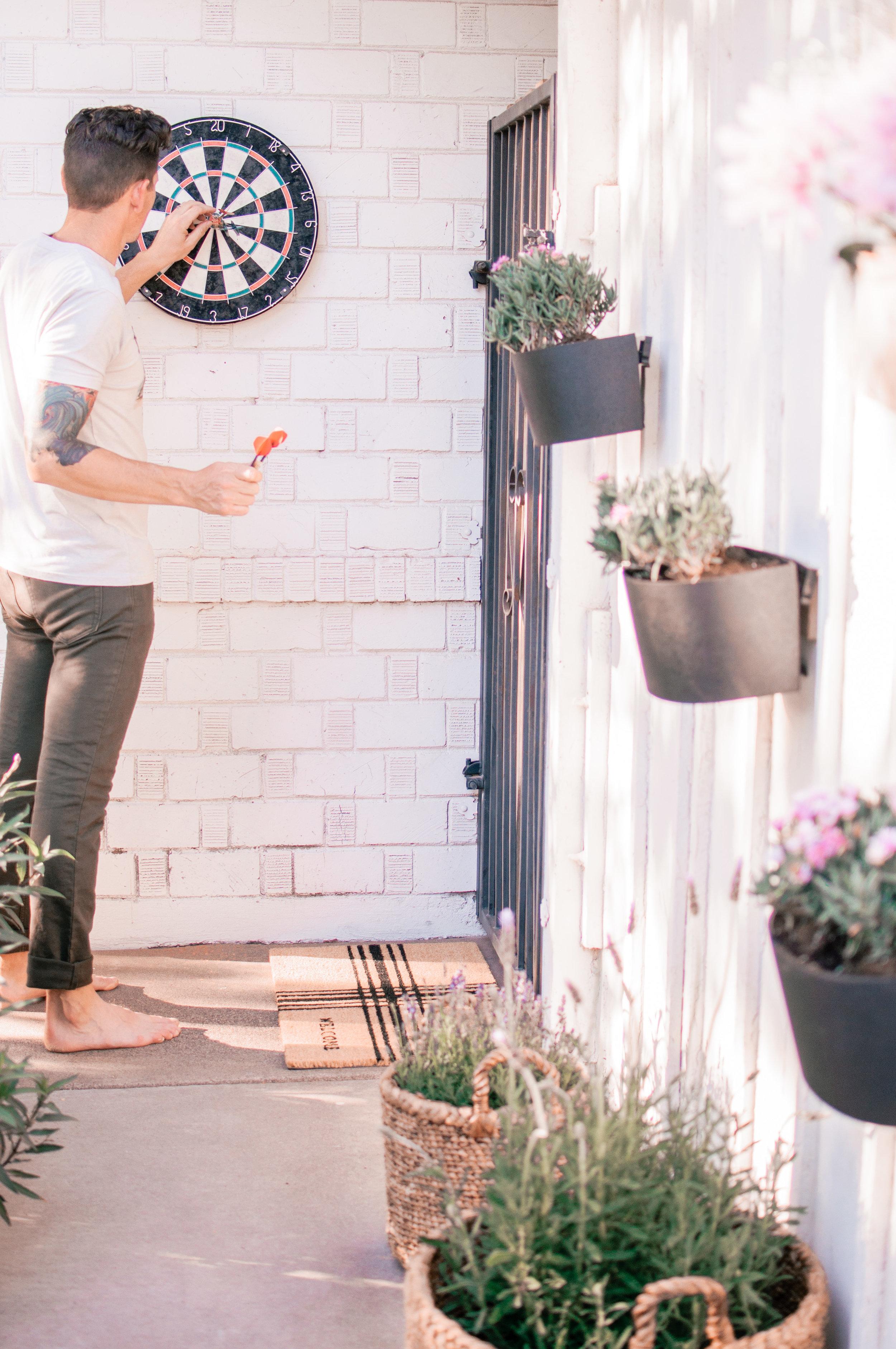 DIY Outdoor Backyard Patio Firepit Area Makeover
