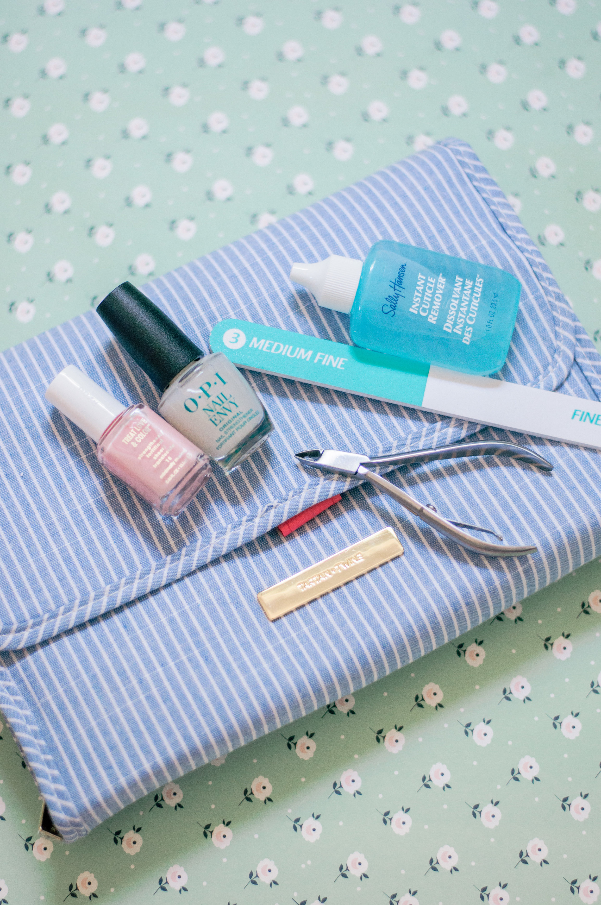 DIY At Home Manicure and Pedicure for Natural Nails