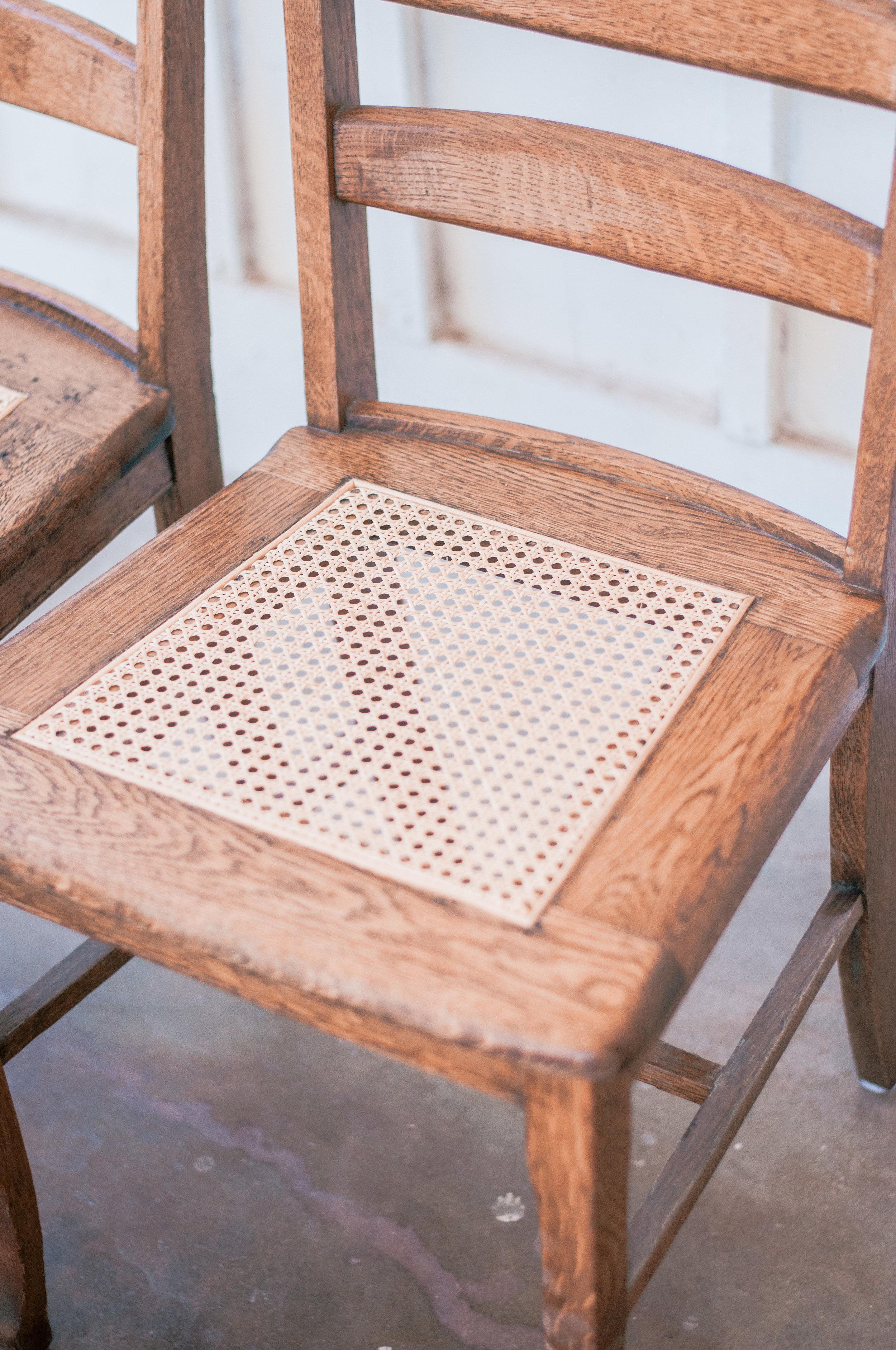 Farmhouse Cane Dining Chair
