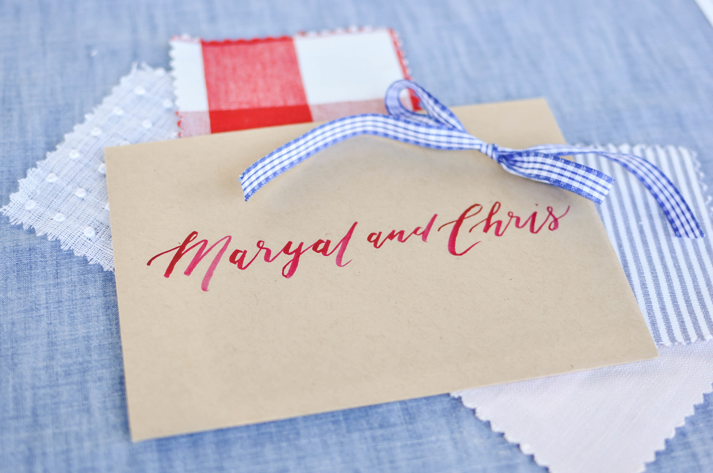 Red White and Blue Wedding Colors Theme
